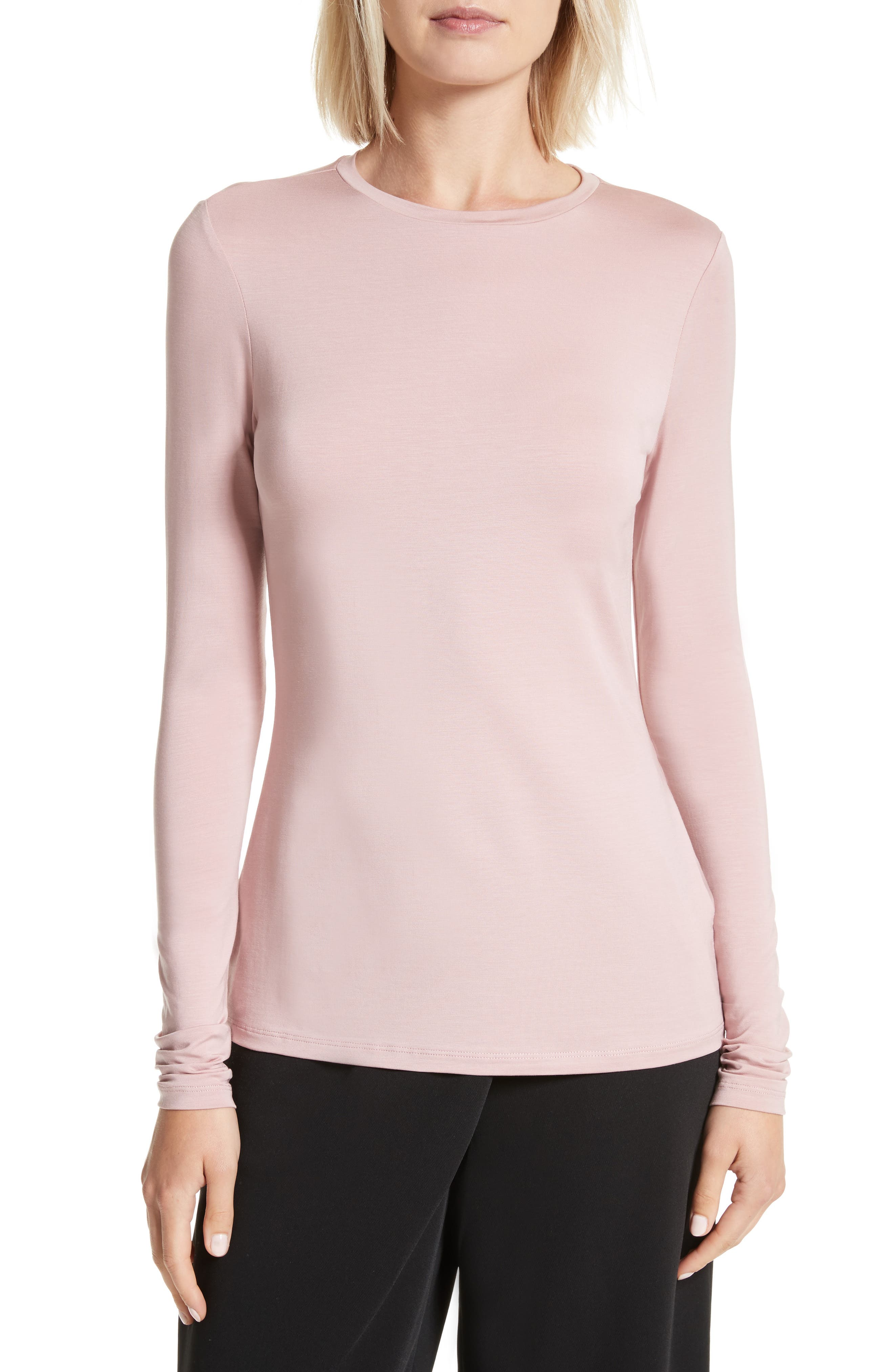 Alternate Image 1 Selected - Ted Baker London Rojo Skinny Long Sleeve Top