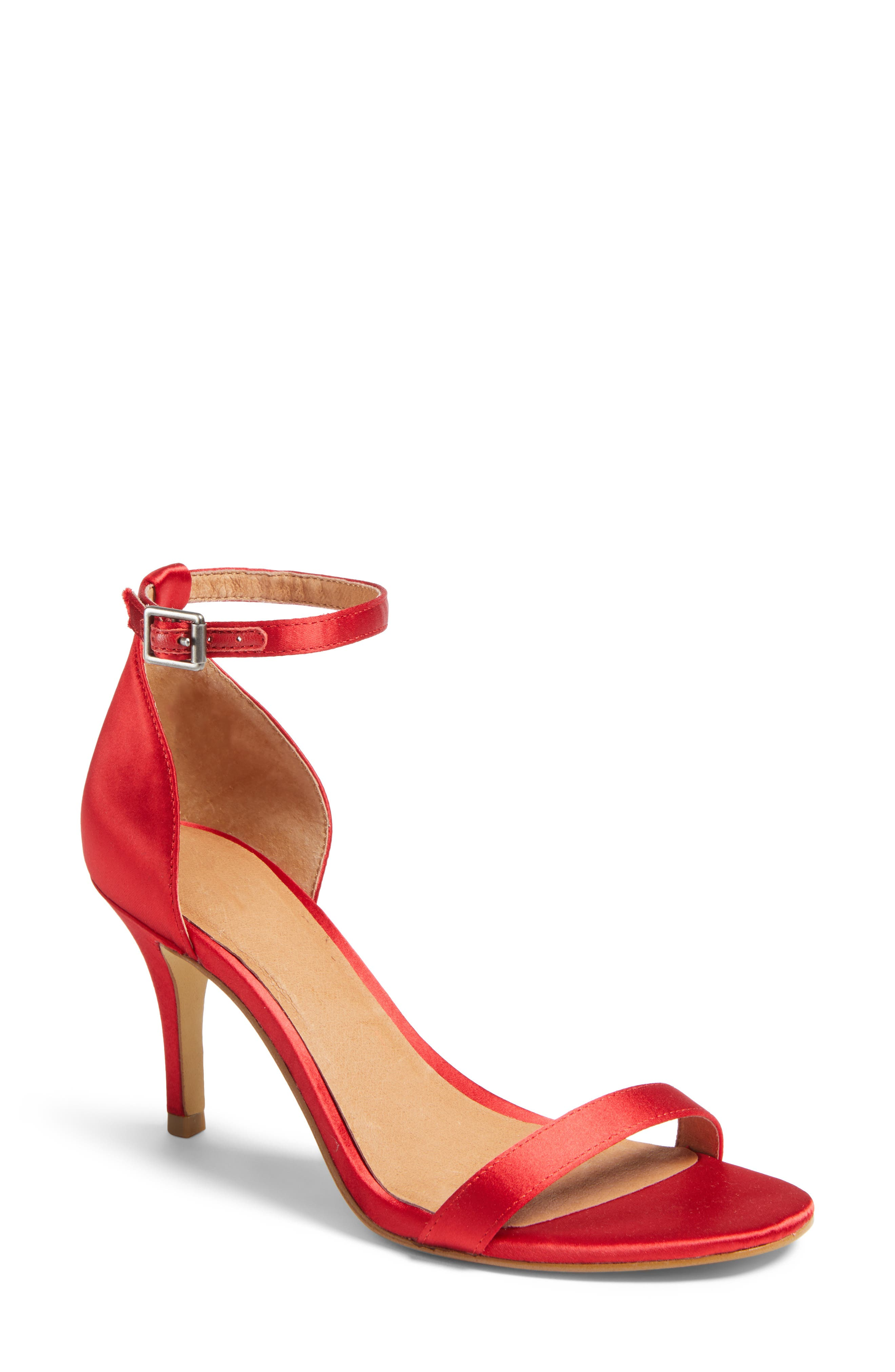 Alternate Image 1 Selected - Halogen® Audrey Ankle Strap Sandal (Women)