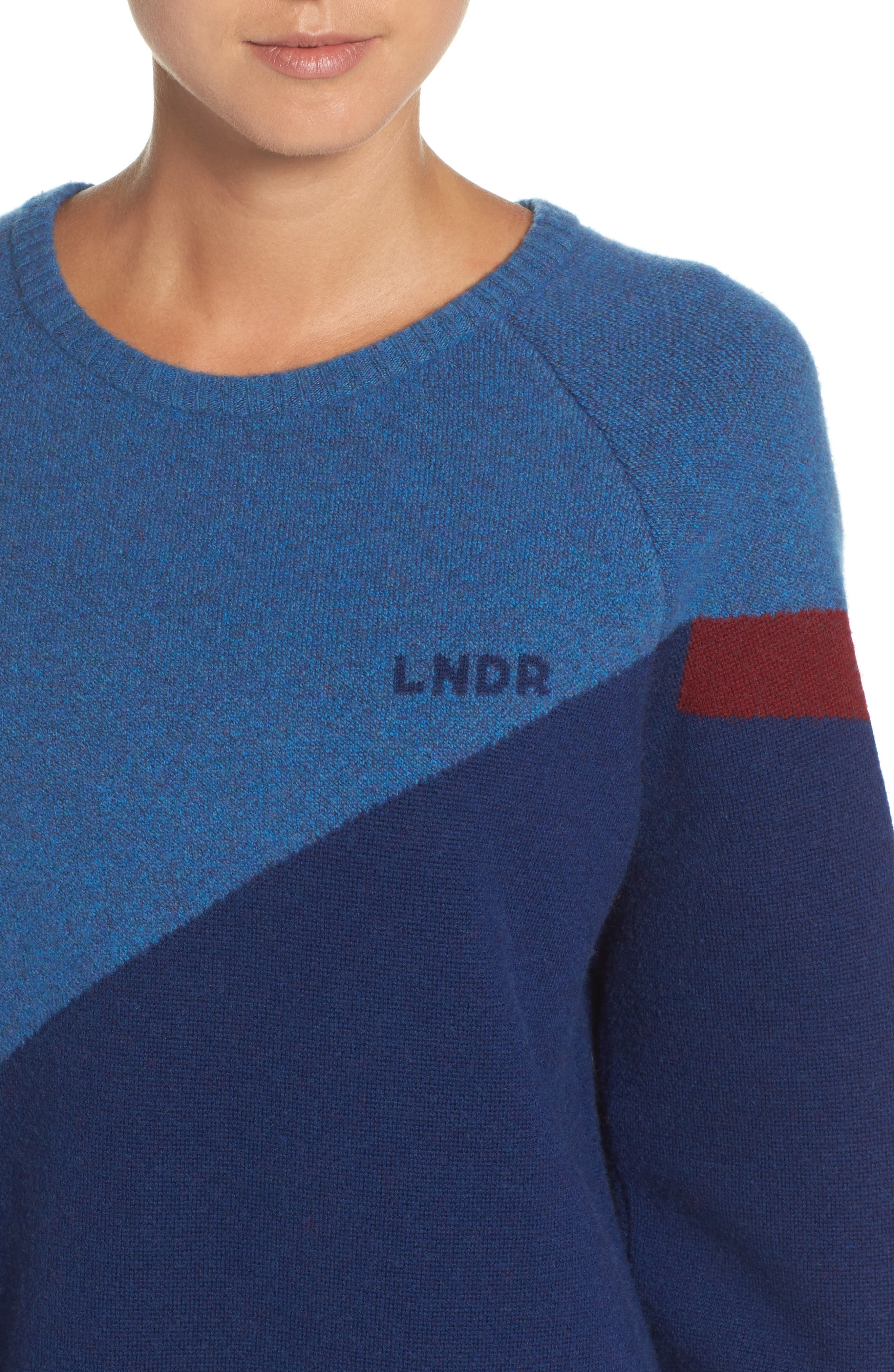 Winter Waterboy Sweater,                             Alternate thumbnail 4, color,                             Burgundy