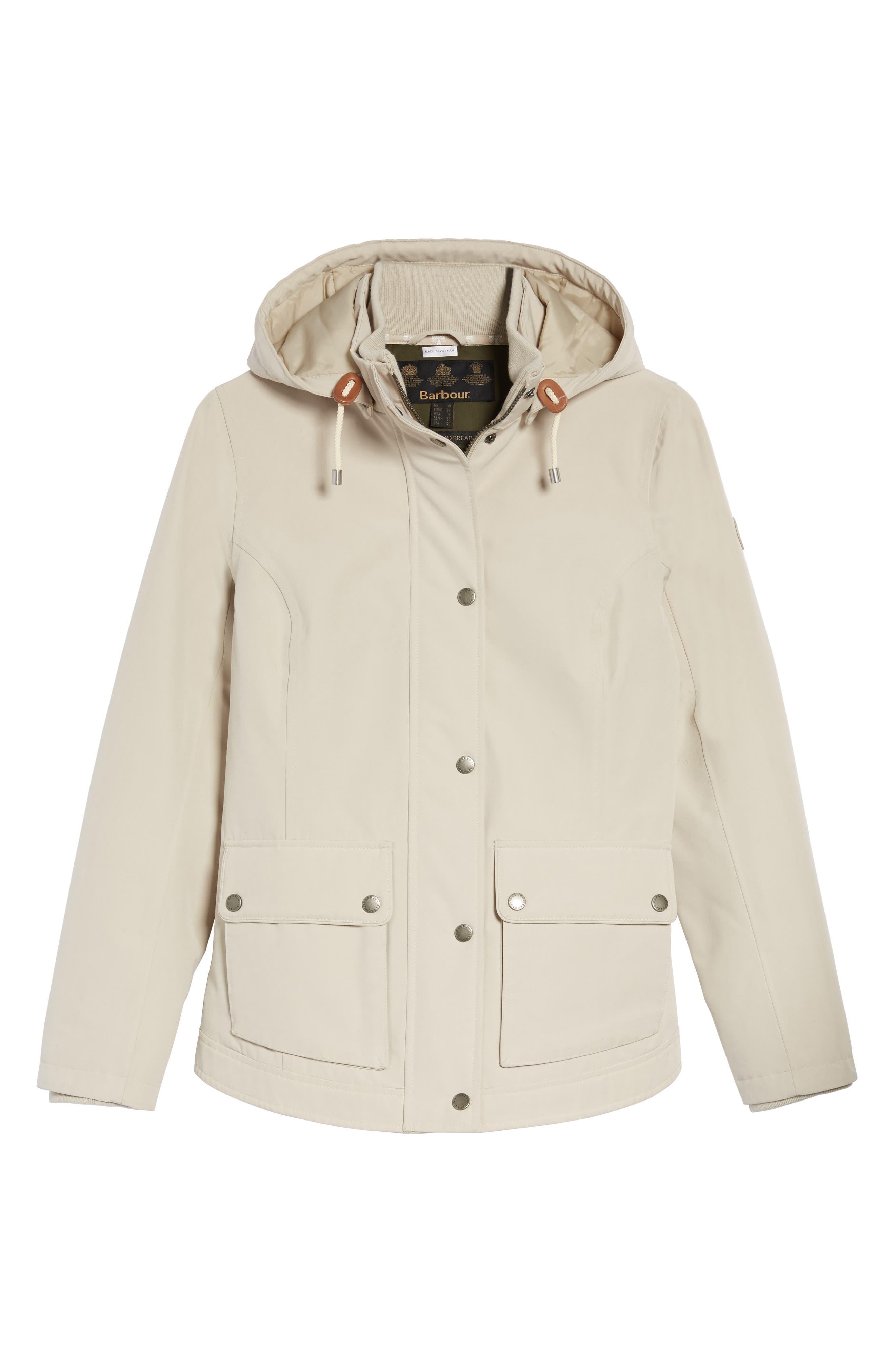 Alternate Image 6  - Barbour Seaton Hooded Waterproof Jacket