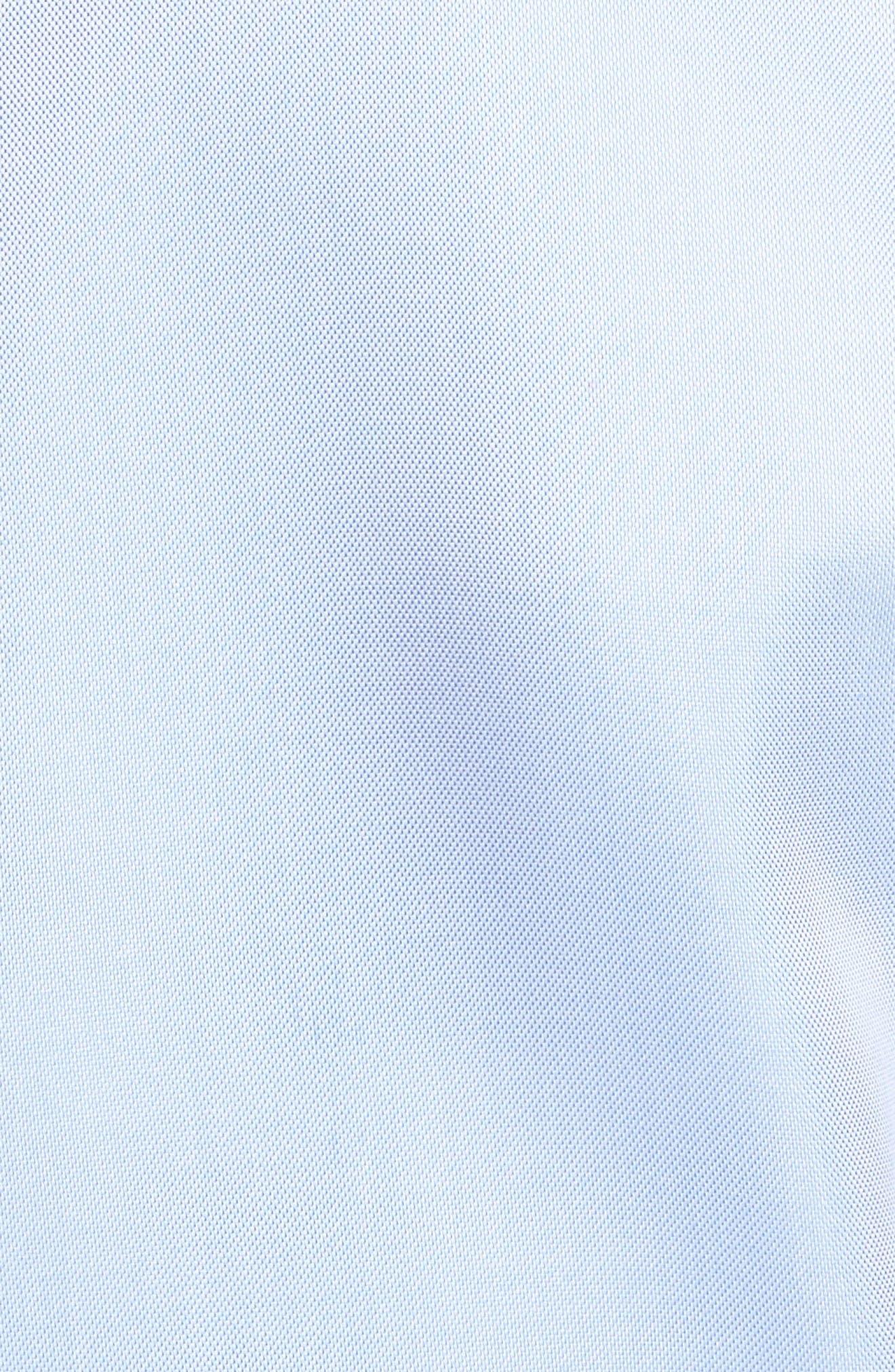 Alternate Image 5  - Peter Millar Crown Soft Pinpoint Regular Fit Sport Shirt