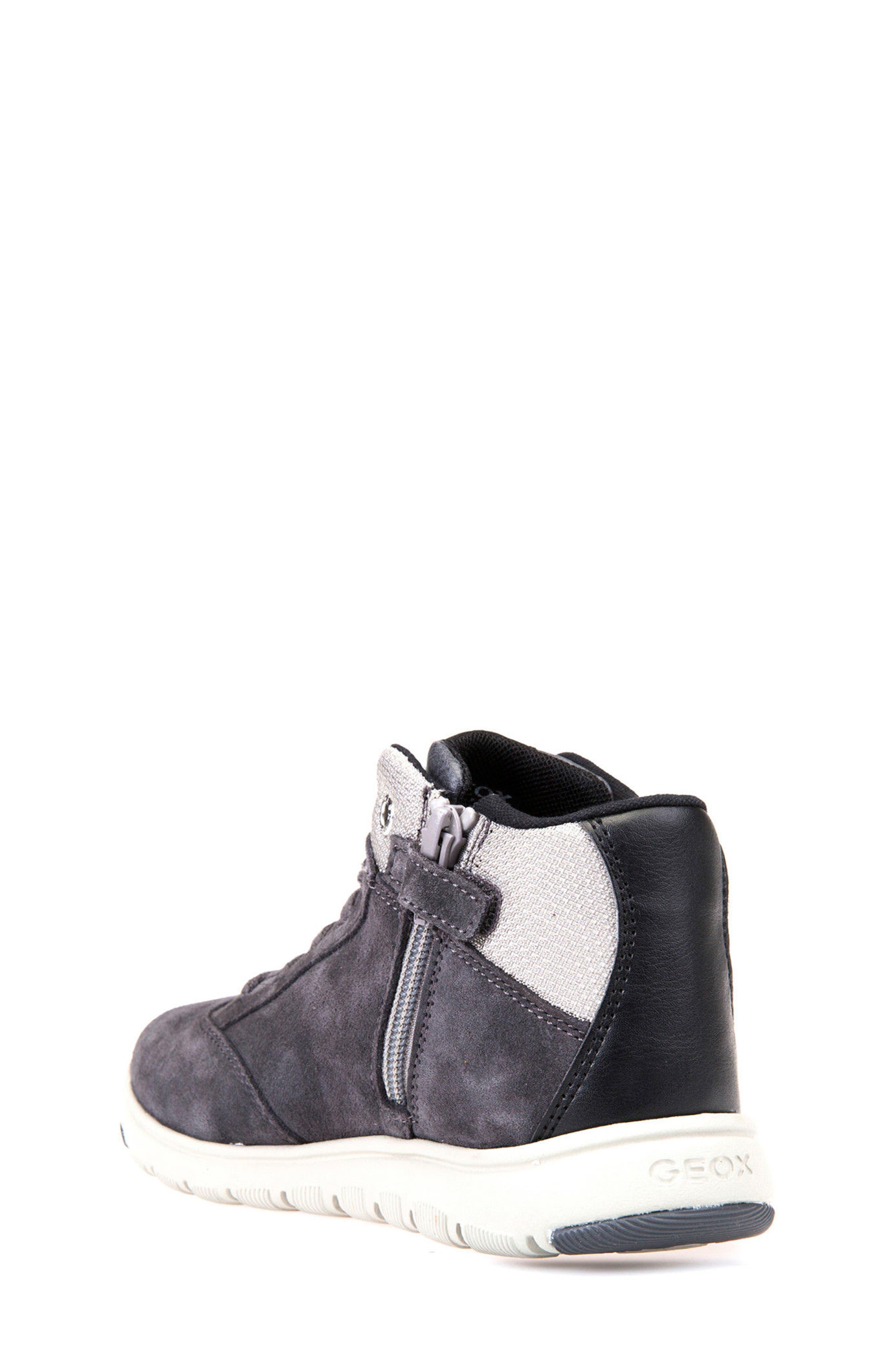 Xunday Mid Top Sneaker,                             Alternate thumbnail 2, color,                             Grey/ Light Grey