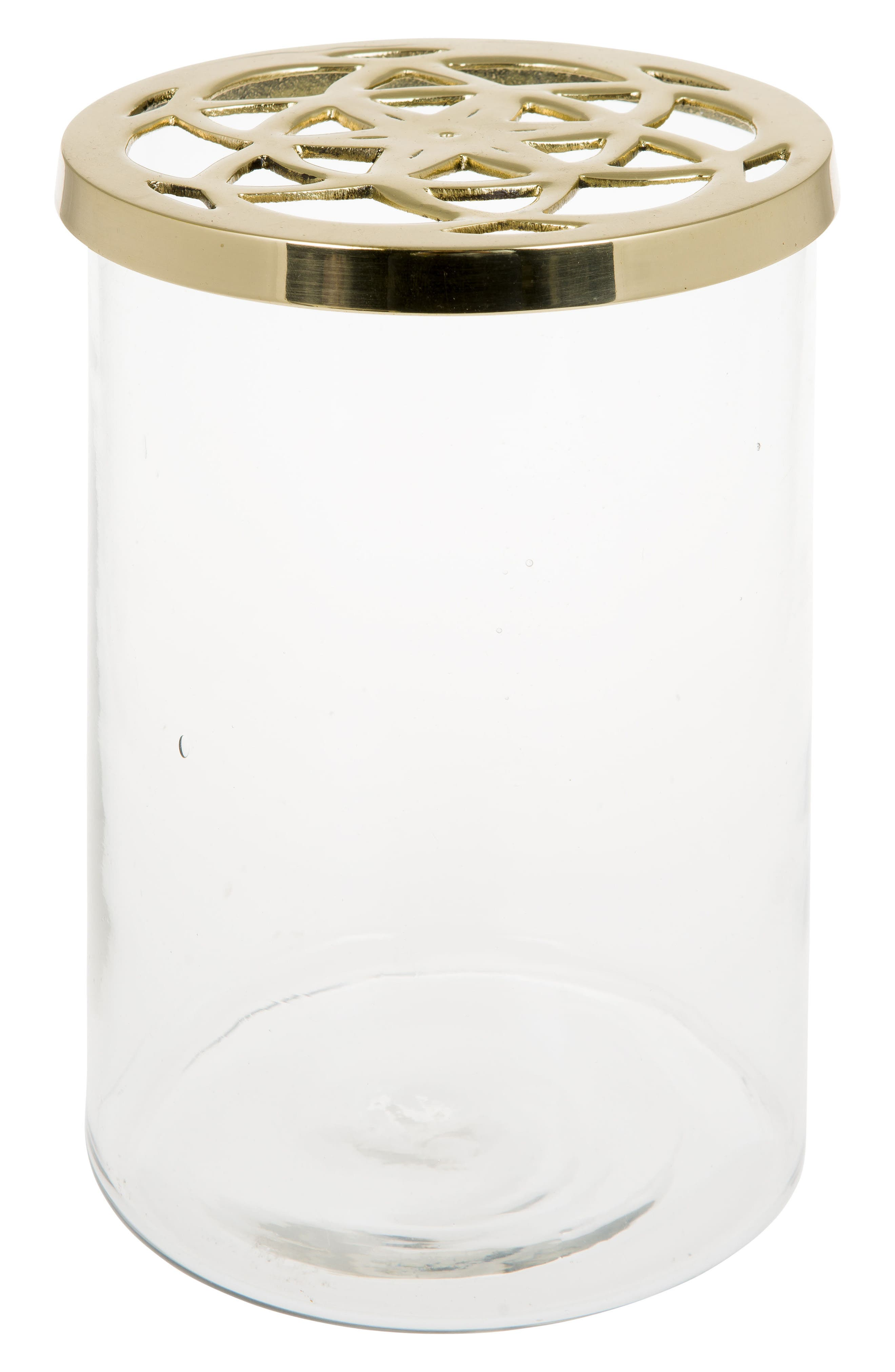 Lily Vase,                         Main,                         color, Gold