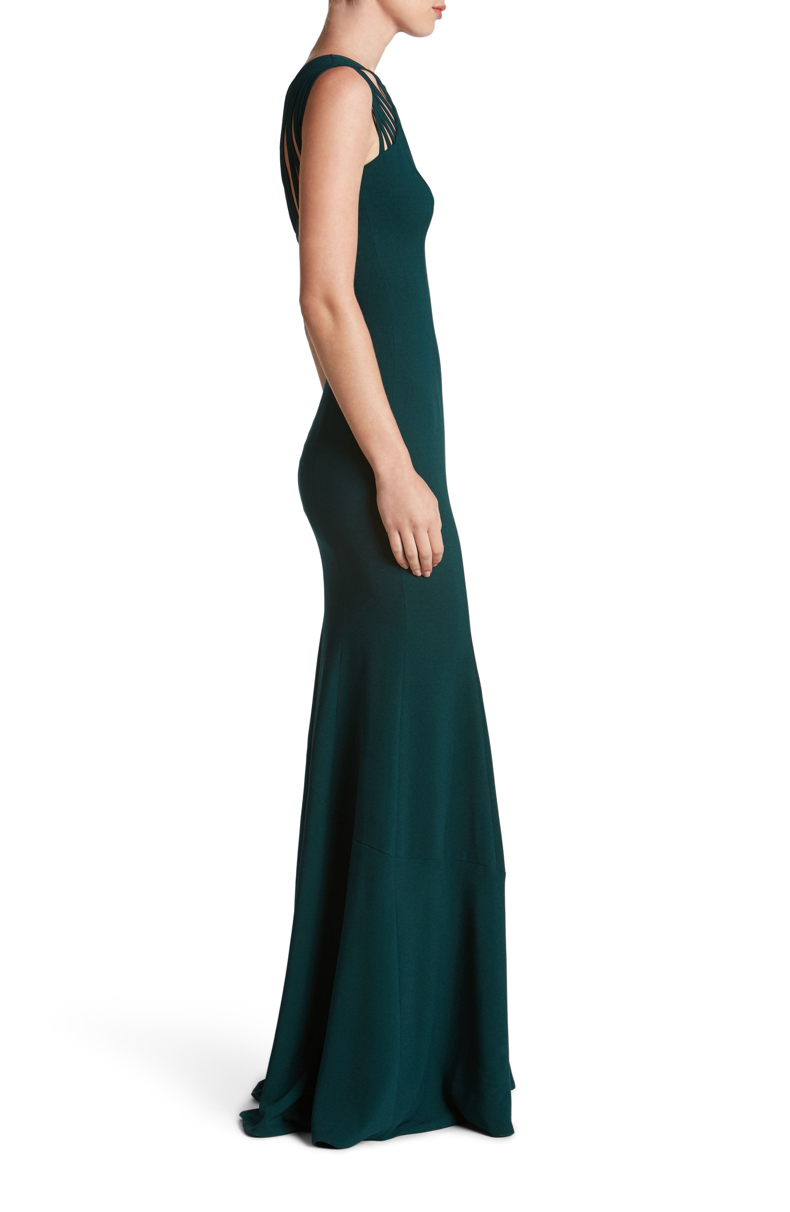 Alternate Image 3  - Dress the Population Harlow Crepe Gown