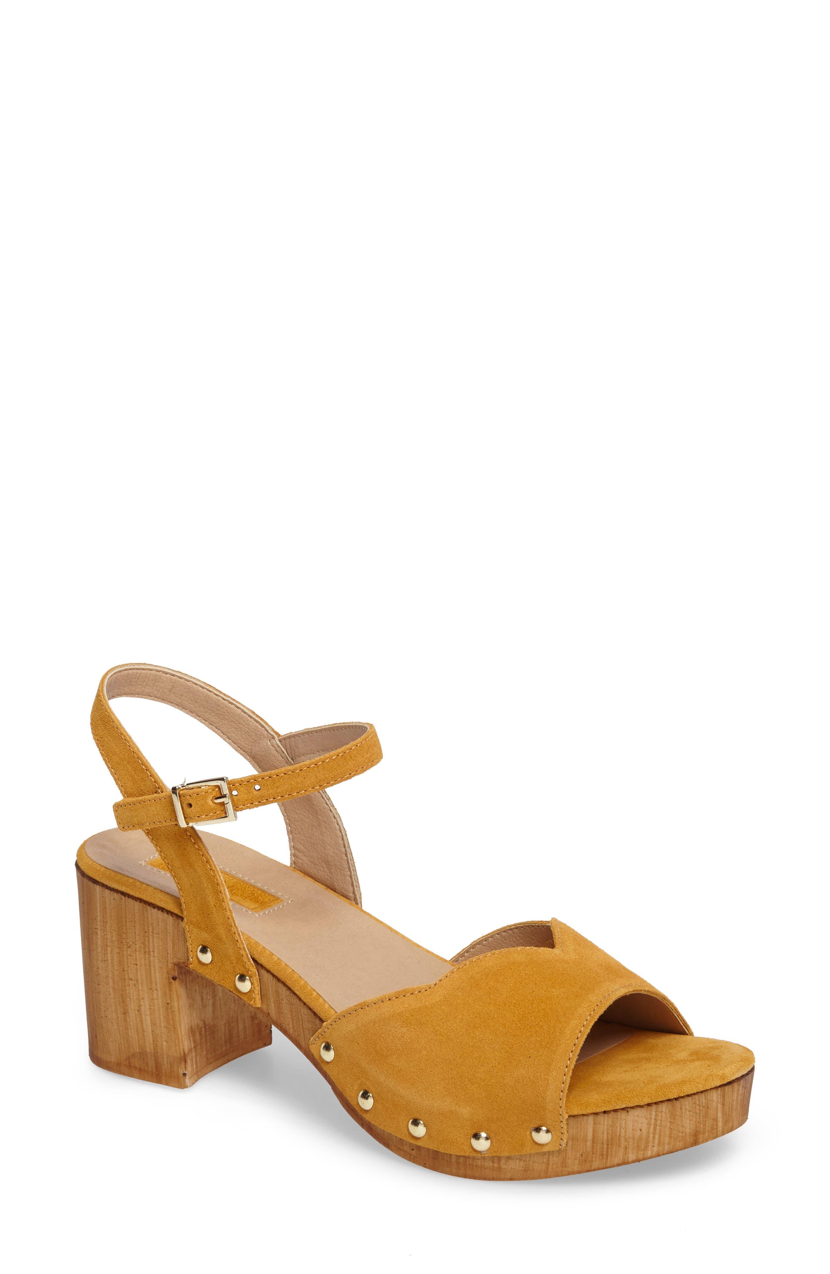 Topshop Valentine Sweetheart Platform Sandal (Women)