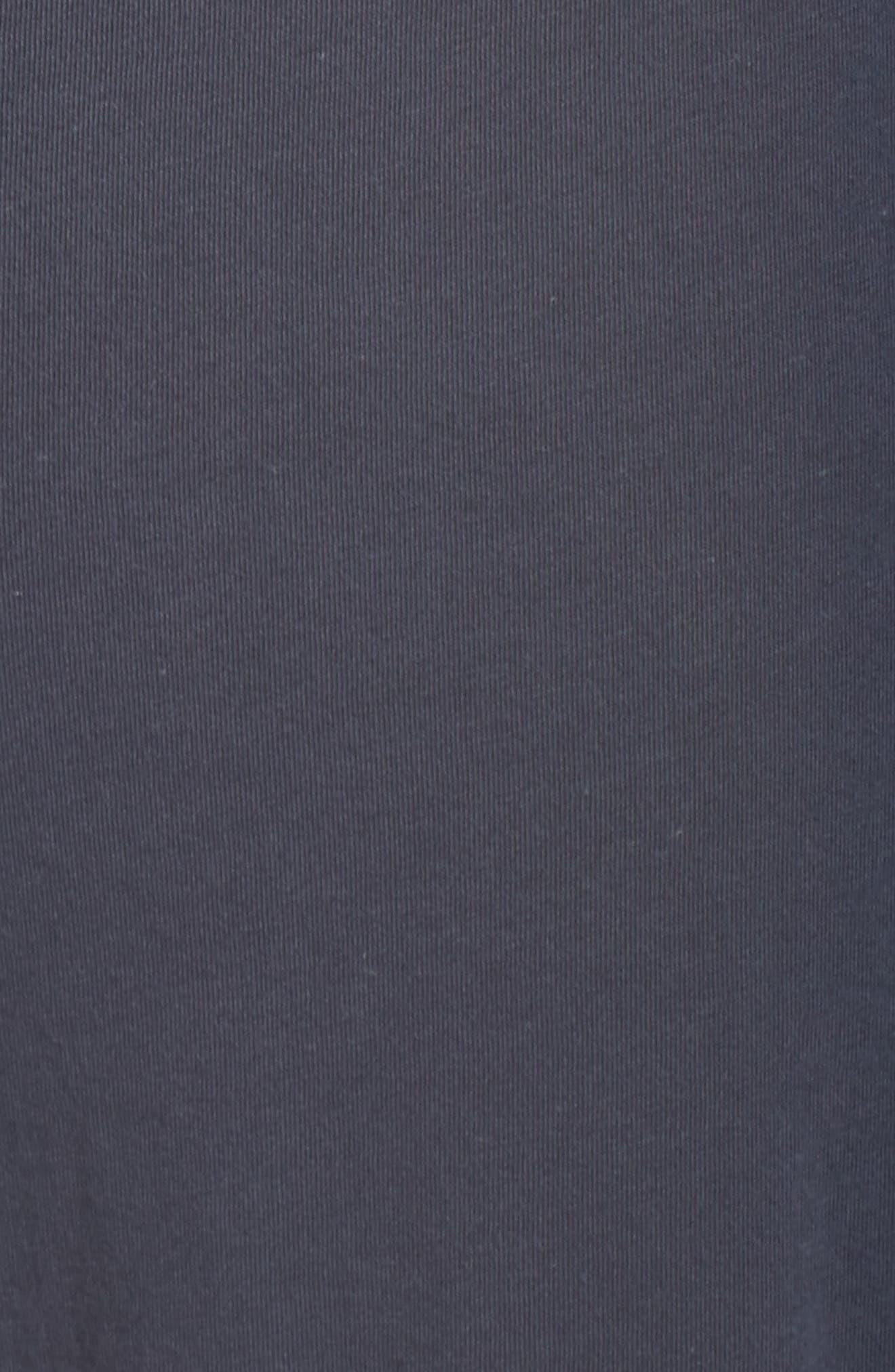 Etta Pima Cotton Pants,                             Alternate thumbnail 6, color,                             Anchor Blue Cloud