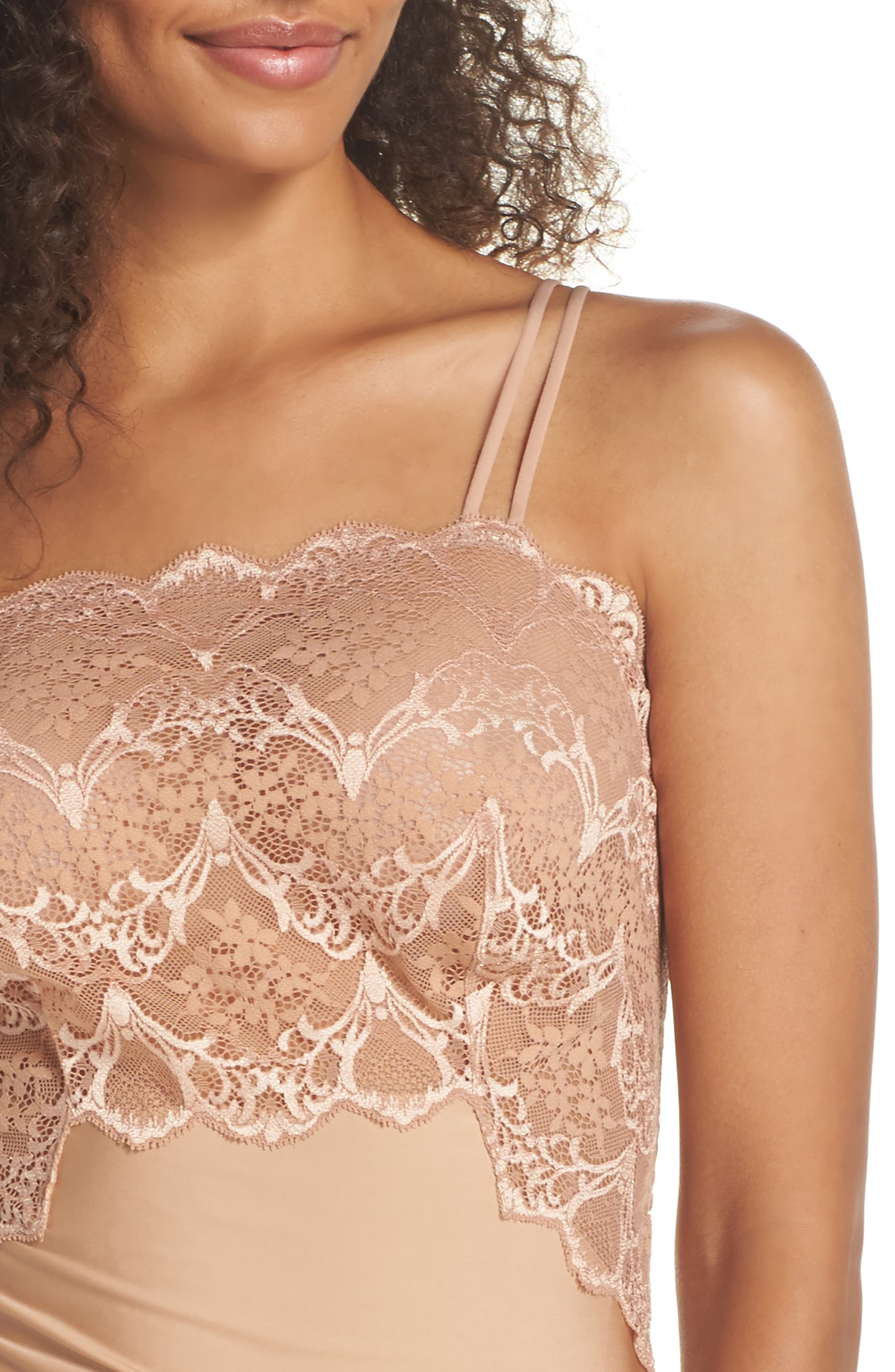 Alternate Image 5  - Wacoal Lace Impression Camisole