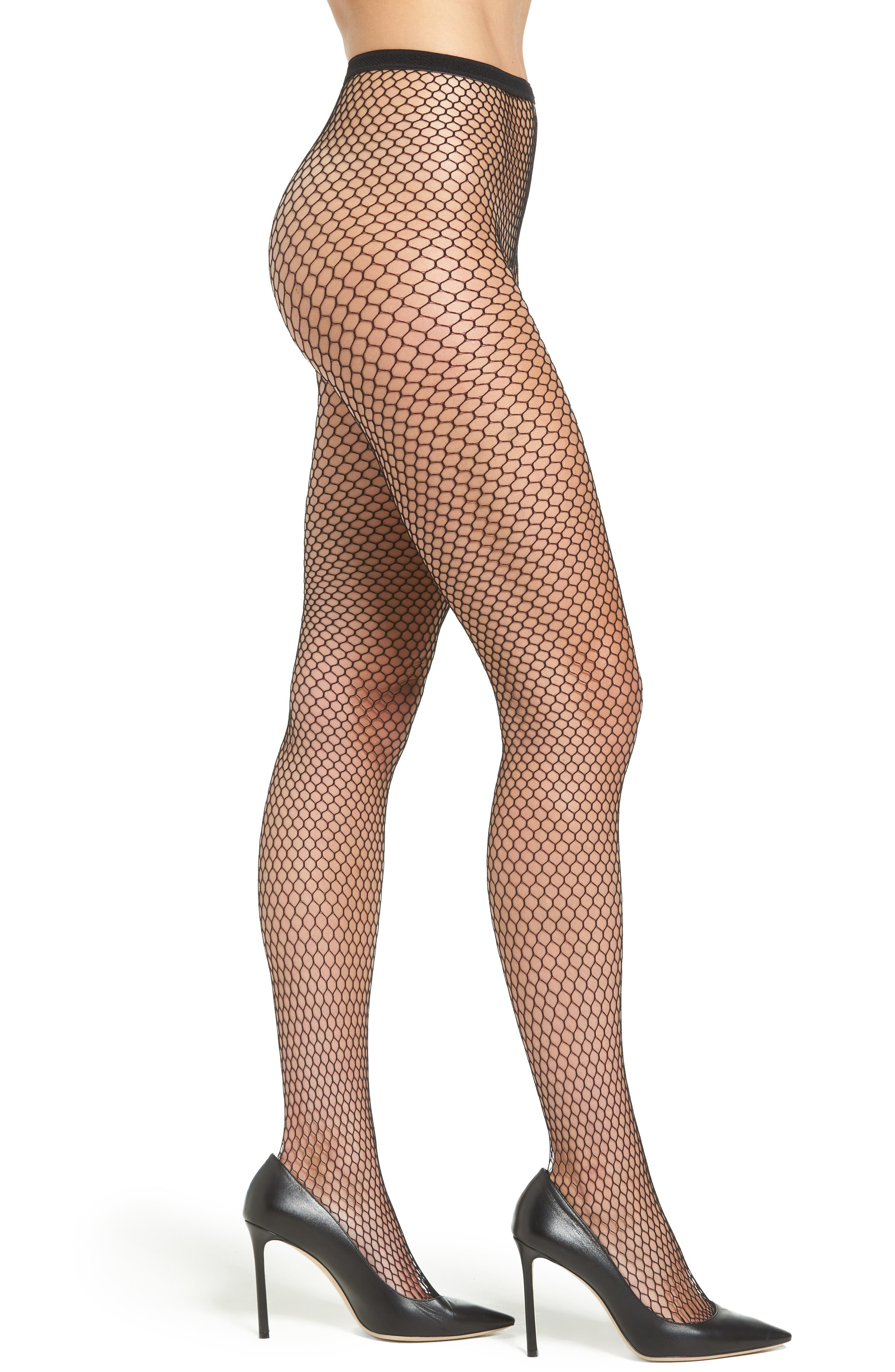 Chelsea28 Hexagon Fishnet Tights