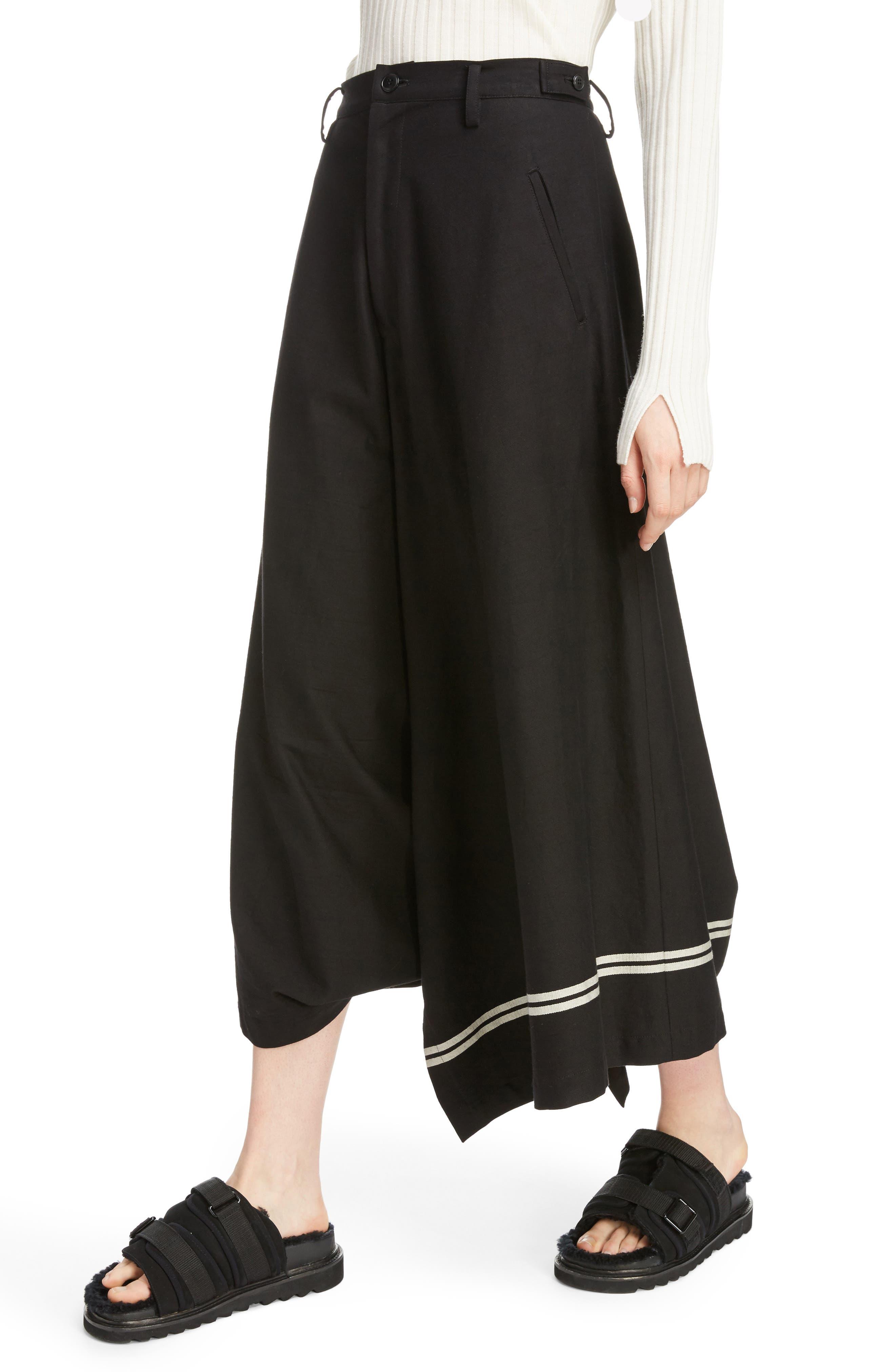 Dart Front Skirt,                             Alternate thumbnail 4, color,                             Navy
