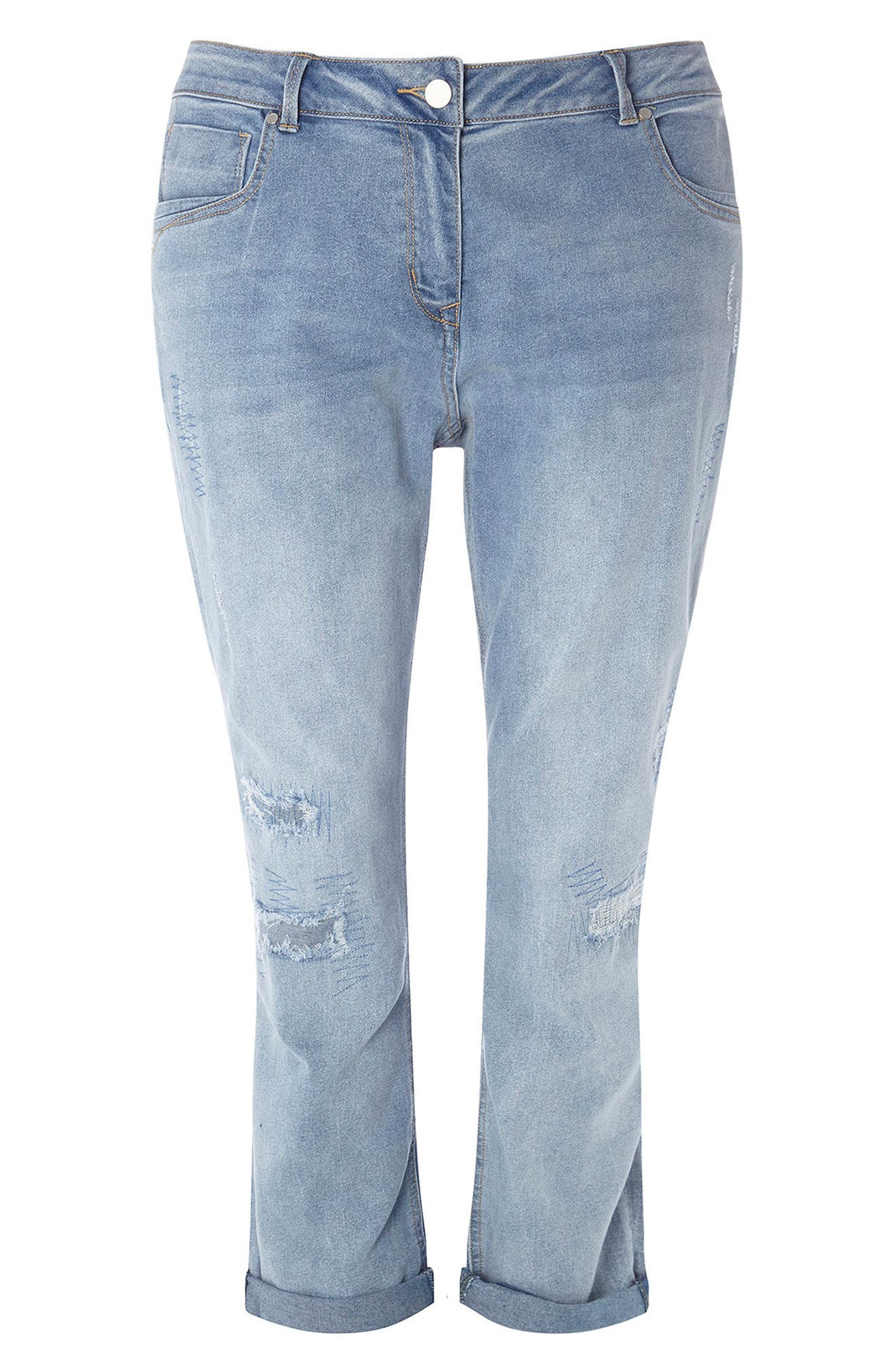 Evans Repaired Boyfriend Jeans (Plus Size)