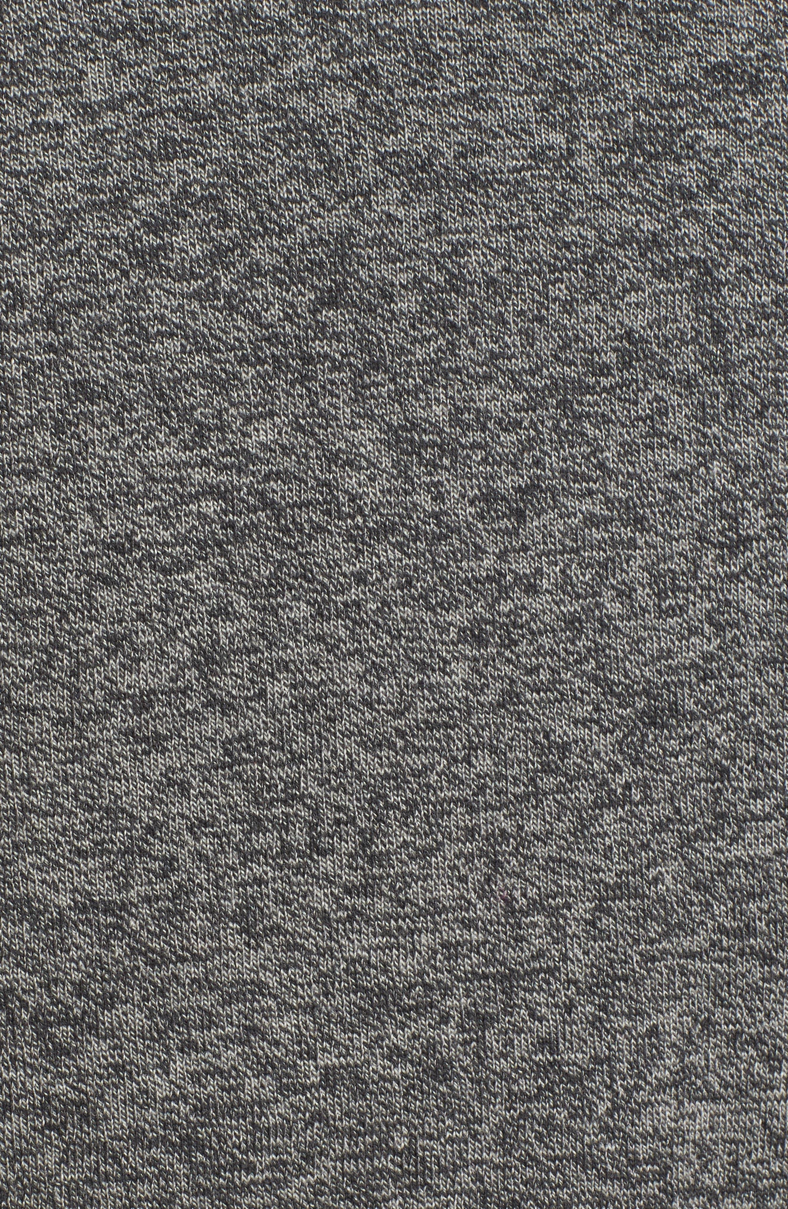 Alternate Image 5  - Nordstrom Men's Shop Saddle Shoulder Cotton & Cashmere V-Neck Sweater