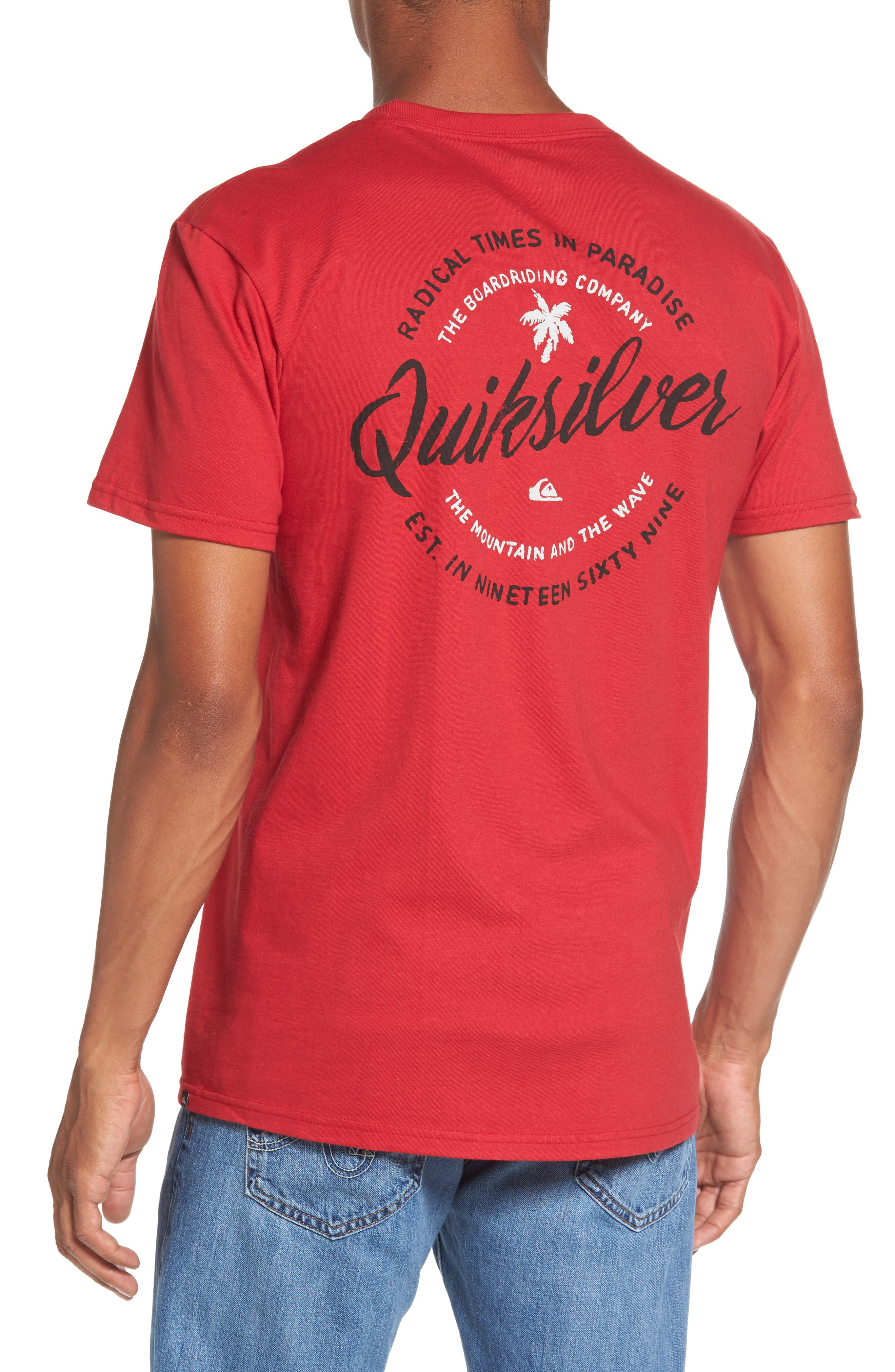 Alternate Image 2  - Quiksilver Holding Dreams MT0 T-Shirt