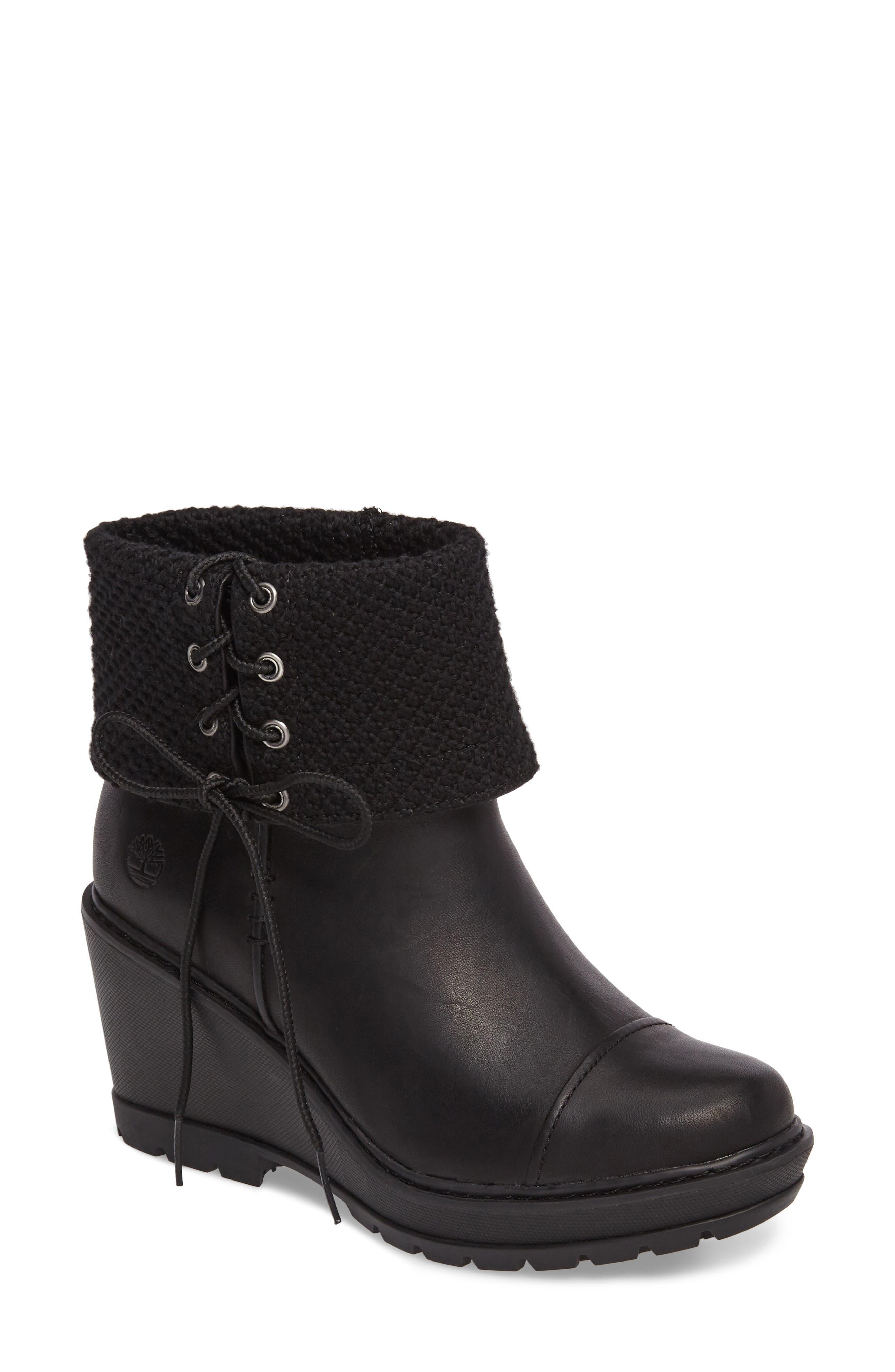 Alternate Image 1 Selected - Timberland Kellis Fold Down Water Resistant Boot (Women)