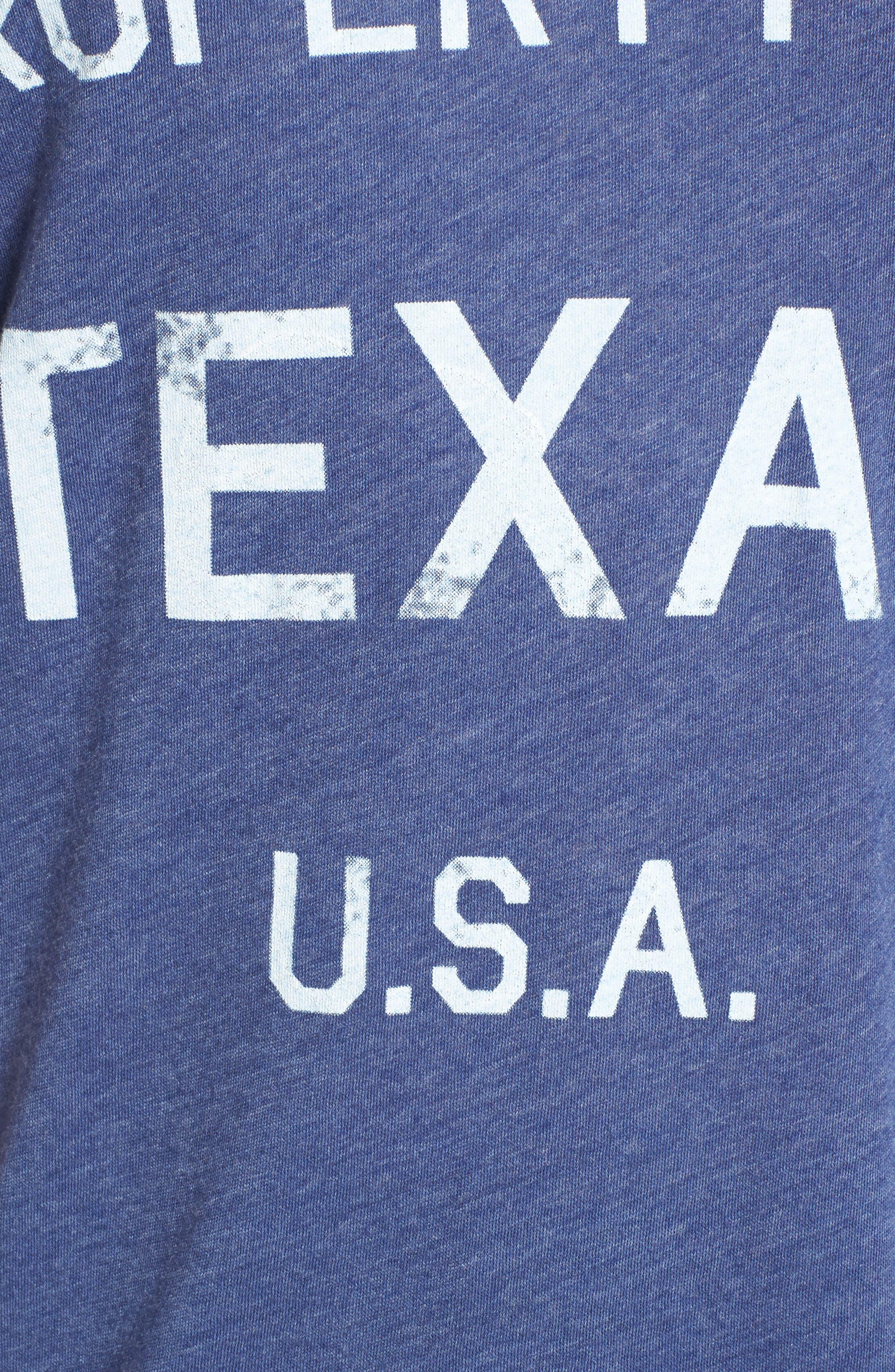 Alternate Image 5  - Wildfox Property of Texas Tee