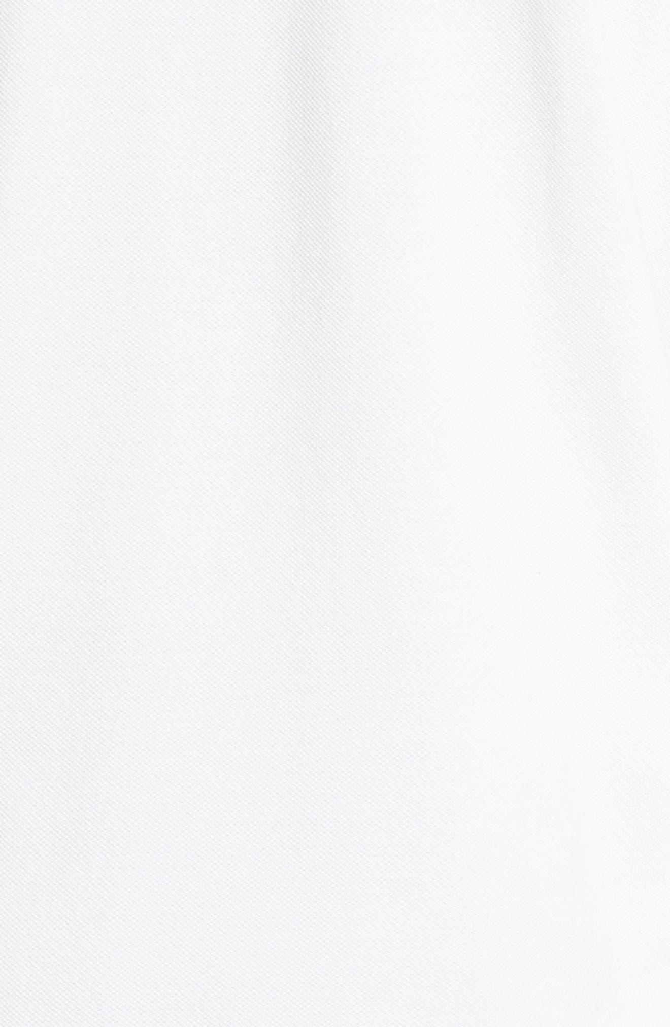 Gunn Piqué Polo,                             Alternate thumbnail 5, color,                             White