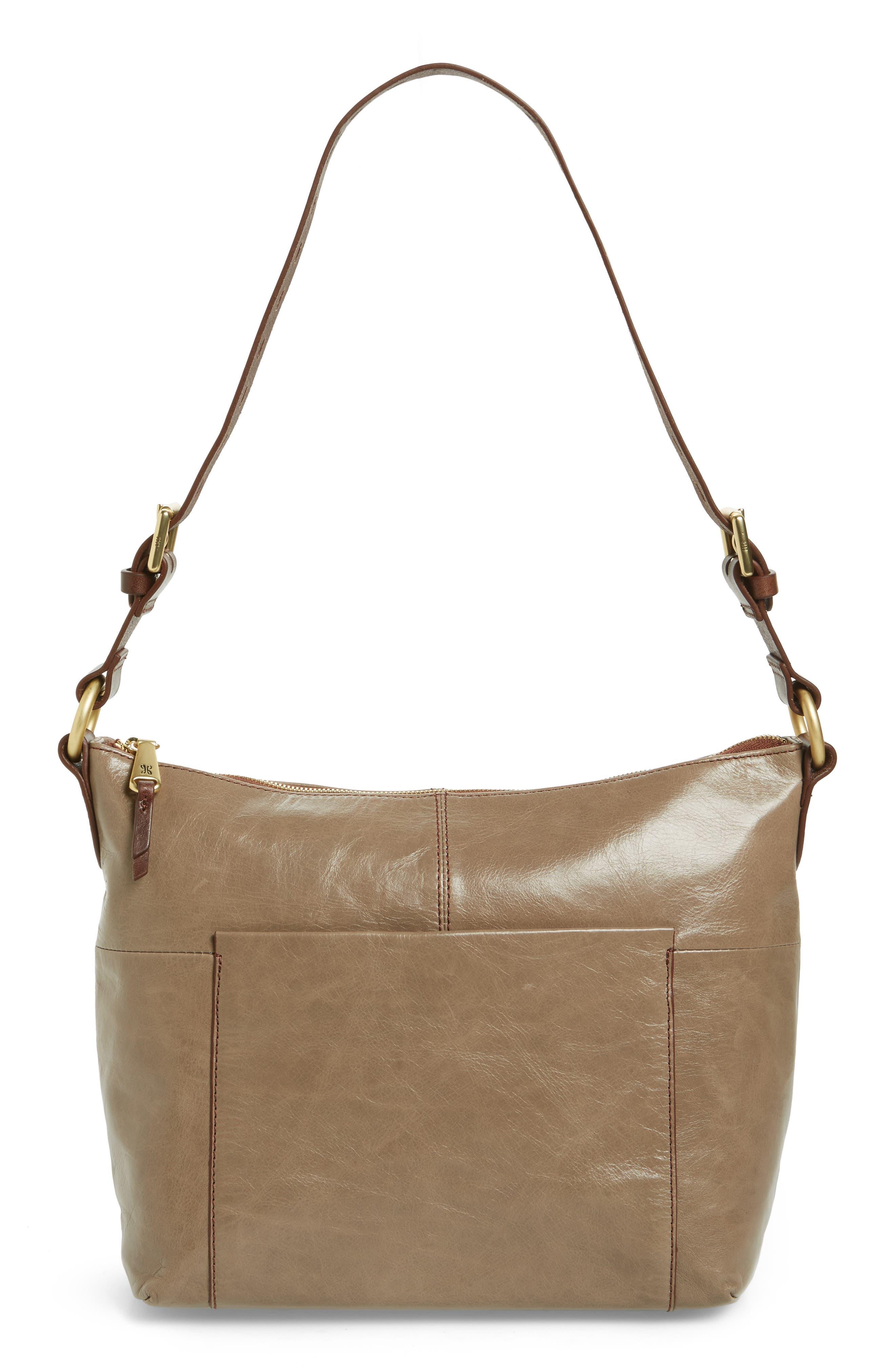 Alternate Image 1 Selected - Hobo 'Charlie' Leather Shoulder Bag
