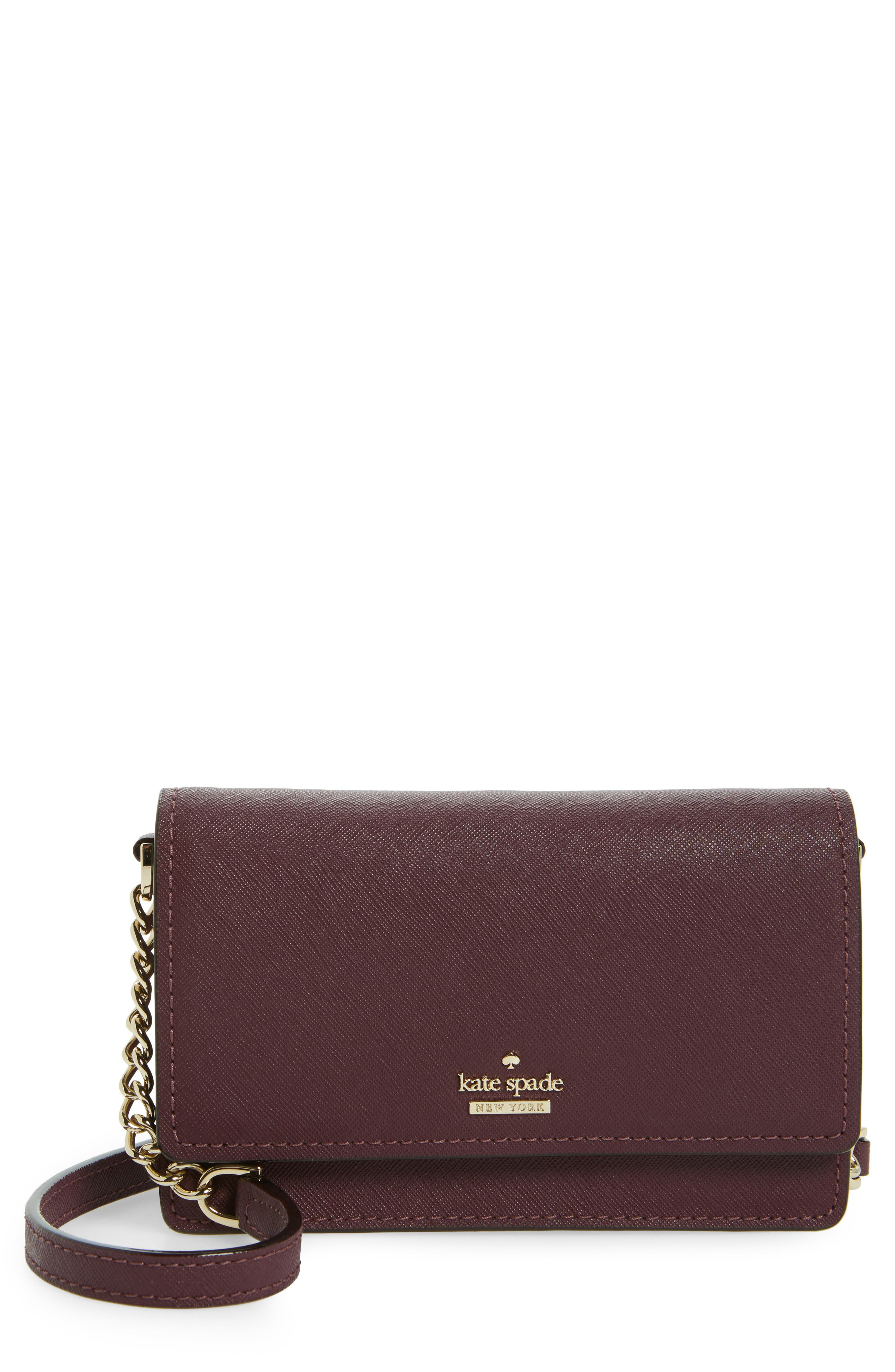 Alternate Image 1 Selected - kate spade new york cameron street - shreya leather crossbody bag