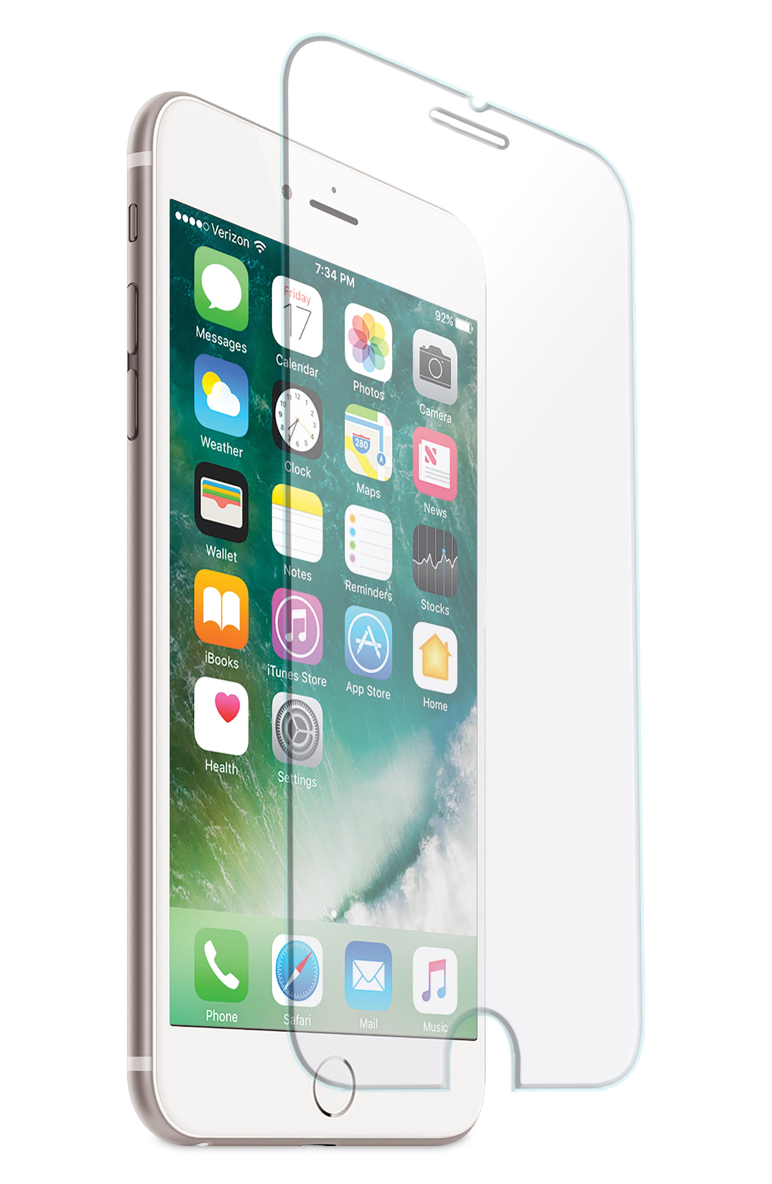 IHOME 2-Pack Tempered Glass iPhone 6 Cover