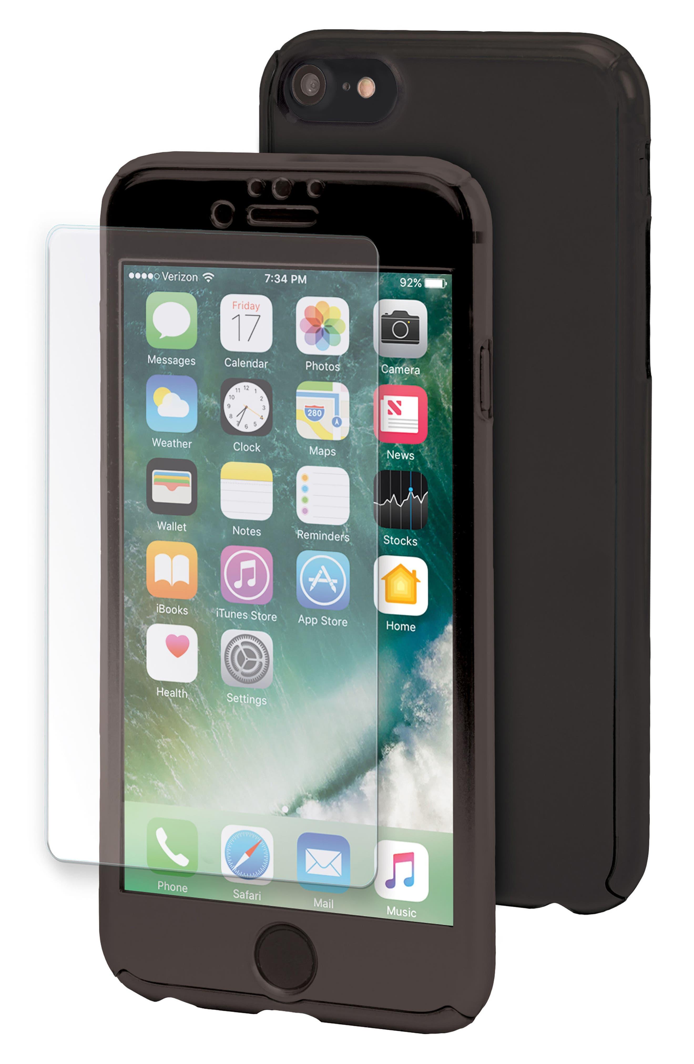 Main Image - iHome Ombré SlimShield 360 iPhone 7/8 Case