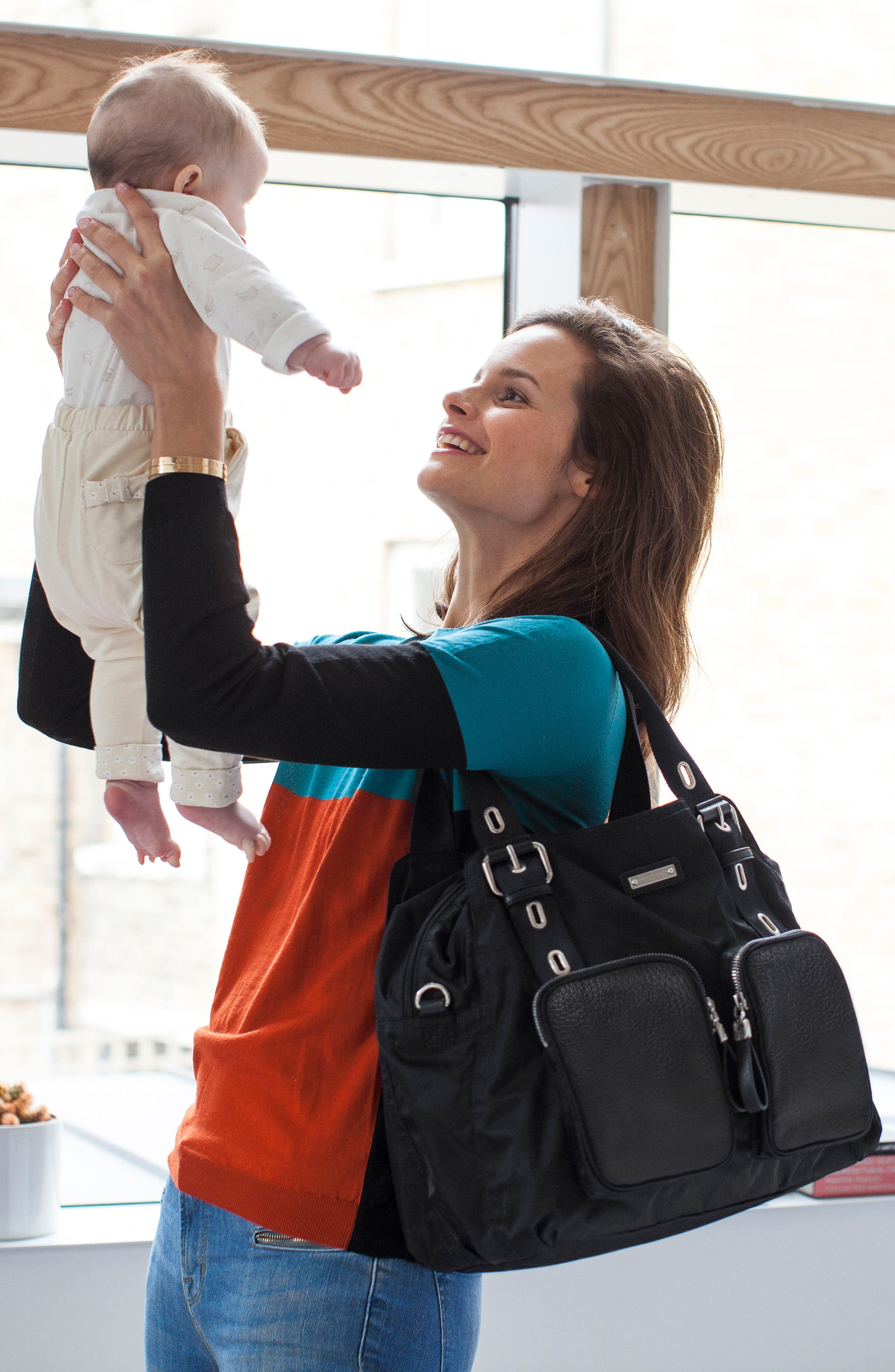 Alternate Image 14  - Storksak Alexa Luxe Diaper Bag