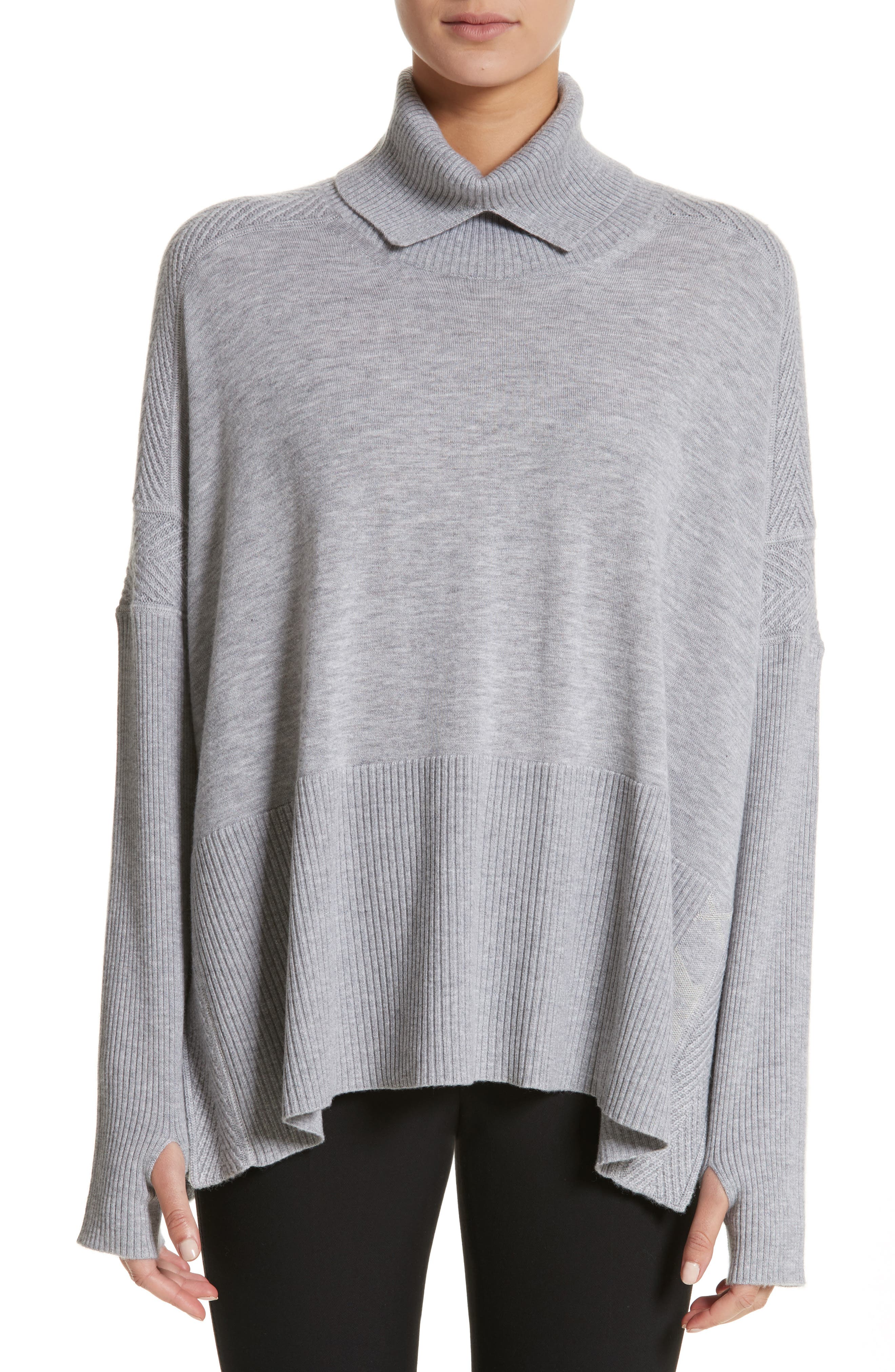 Burberry Potenza Wool & Cashmere Turtleneck Sweater