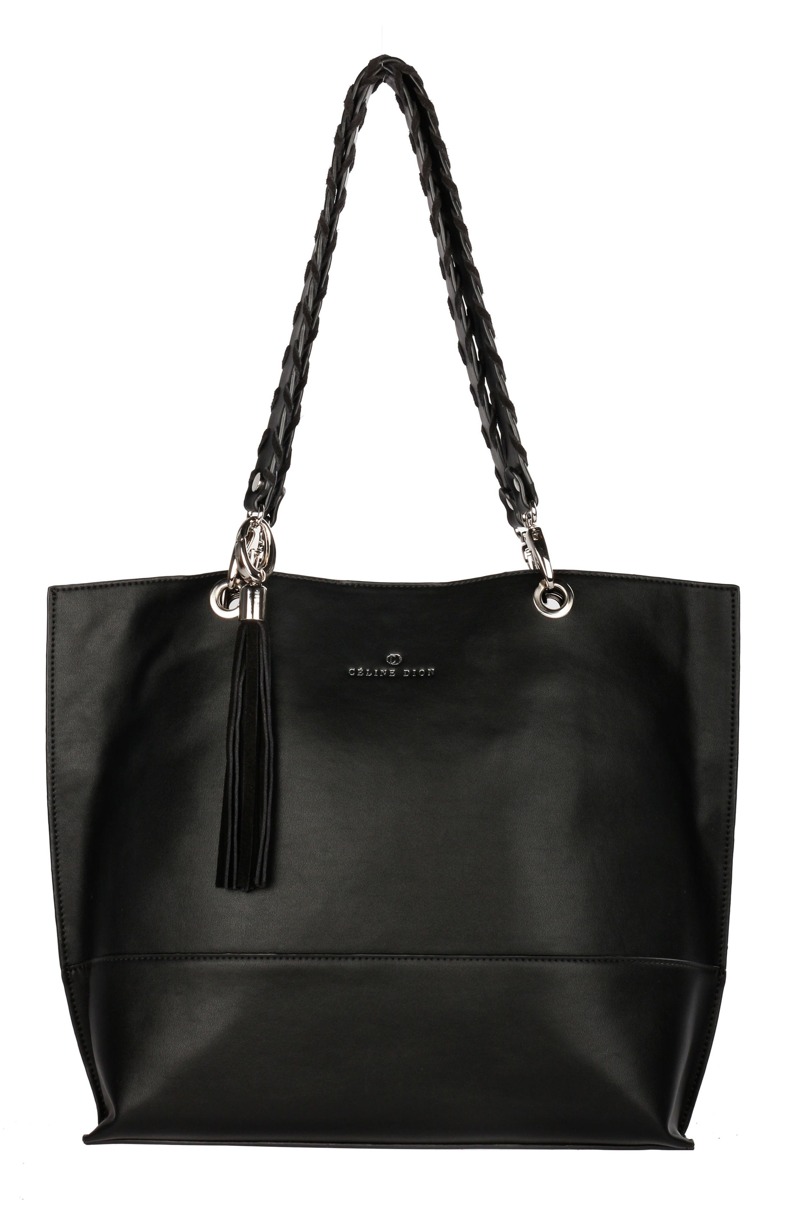 Alternate Image 1 Selected - Céline Dion Espressivo Faux Leather Tote