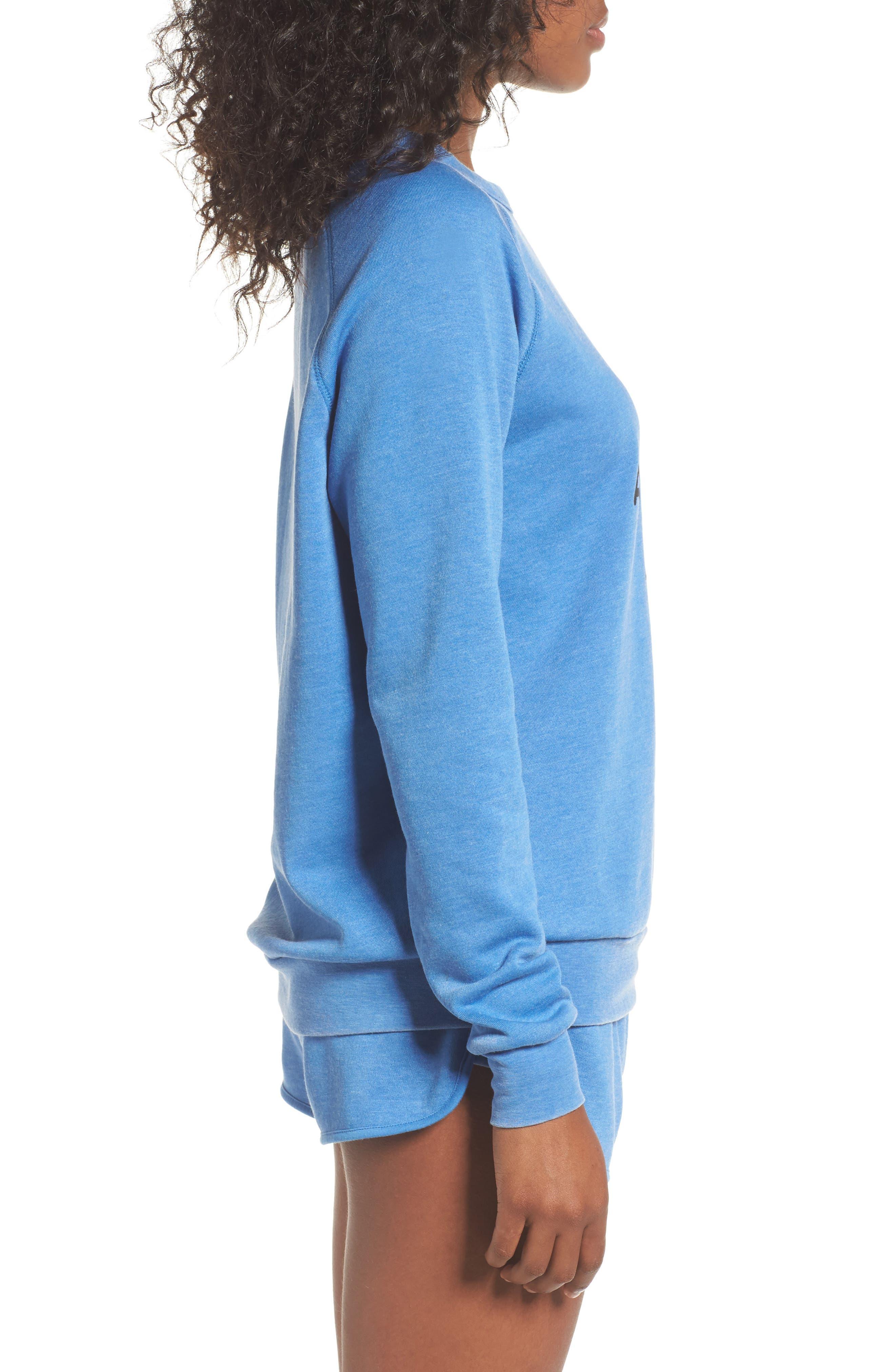 Alternate Image 4  - The Laundry Room Airplane Mode Cozy Lounge Sweatshirt