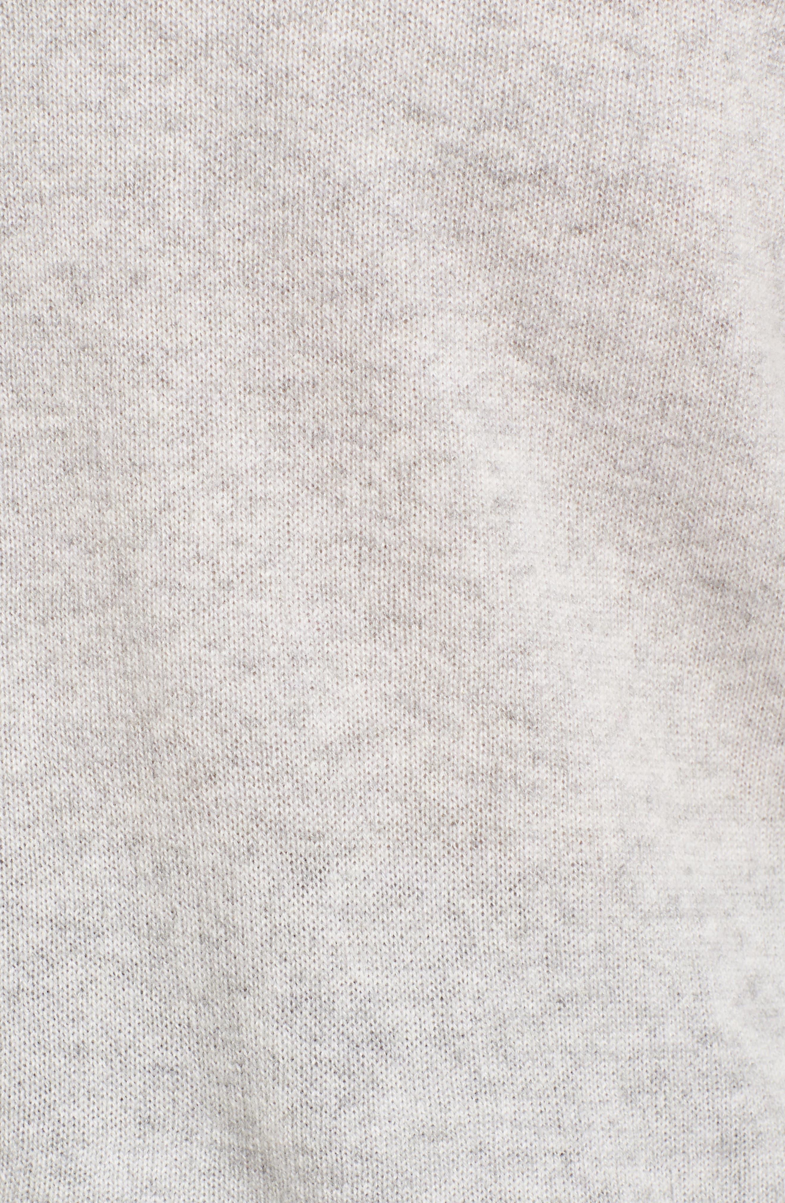 Alternate Image 5  - Halogen® Crewneck Cashmere Sweater (Regular & Petite)