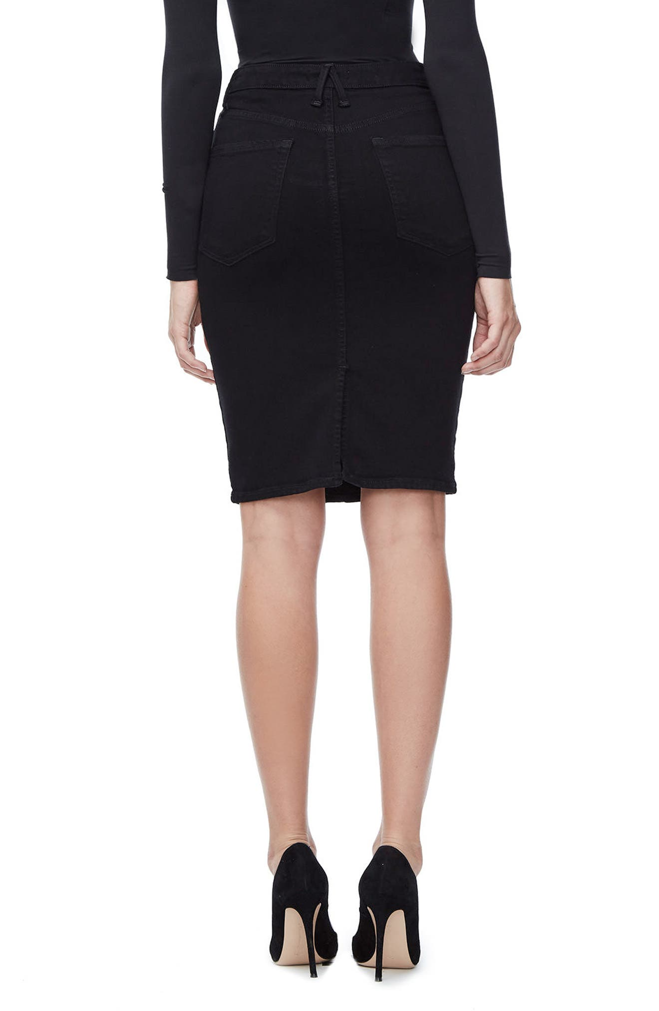 Alternate Image 2  - Good American The Pencil Skirt (Extended Sizes)