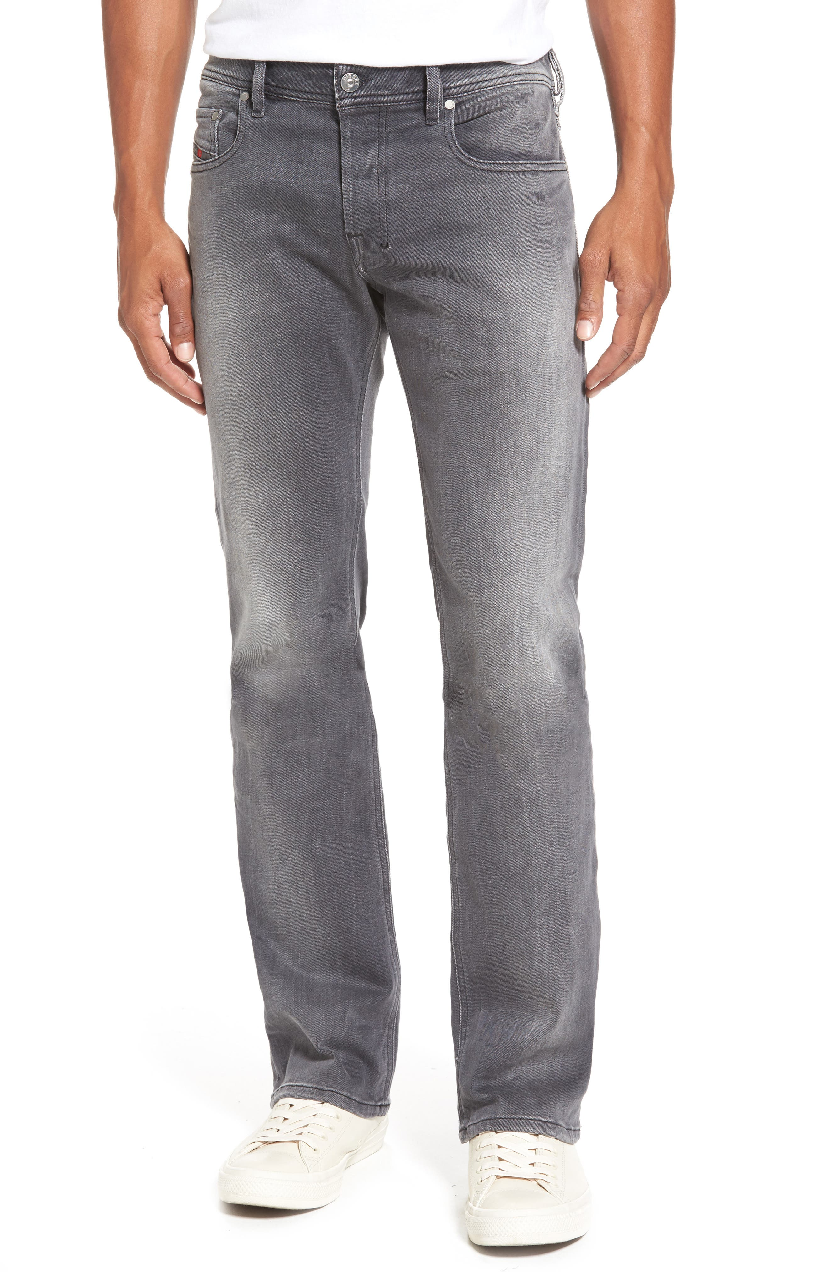 Main Image - DIESEL® Zatiny Bootcut Jeans (84JK)