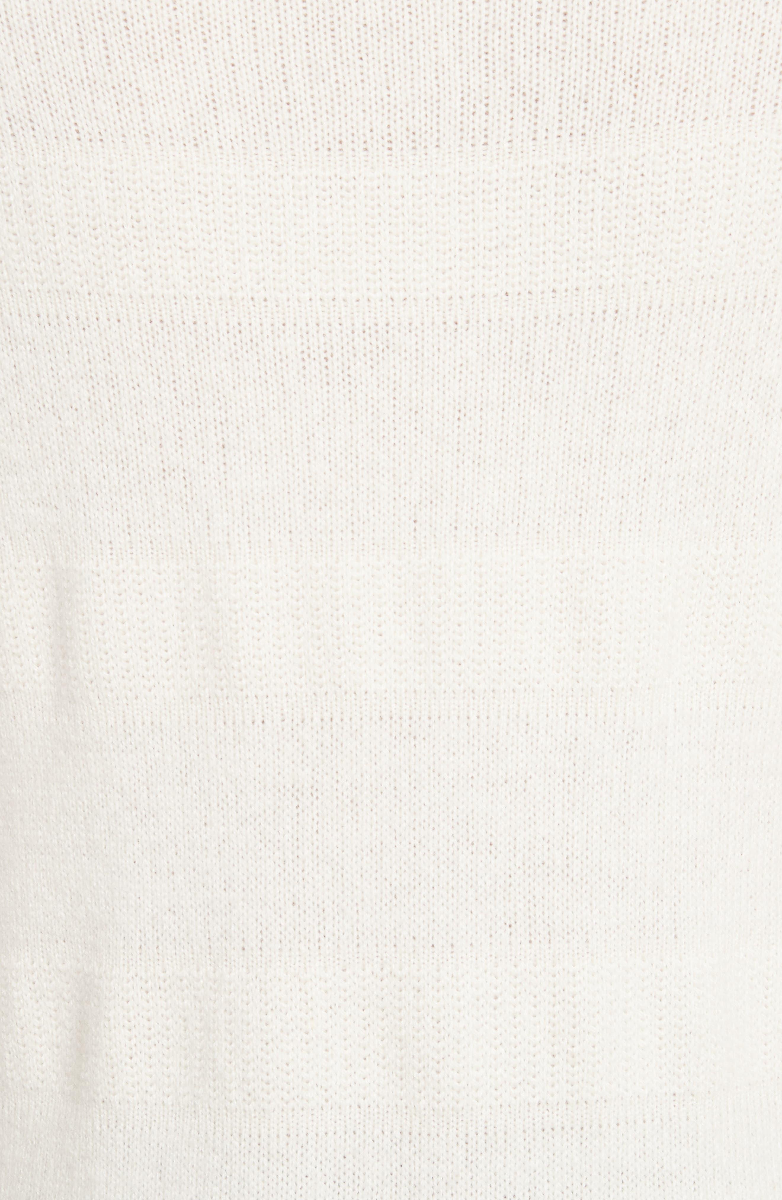 Alternate Image 5  - kate spade new york bell cuff textured sweater