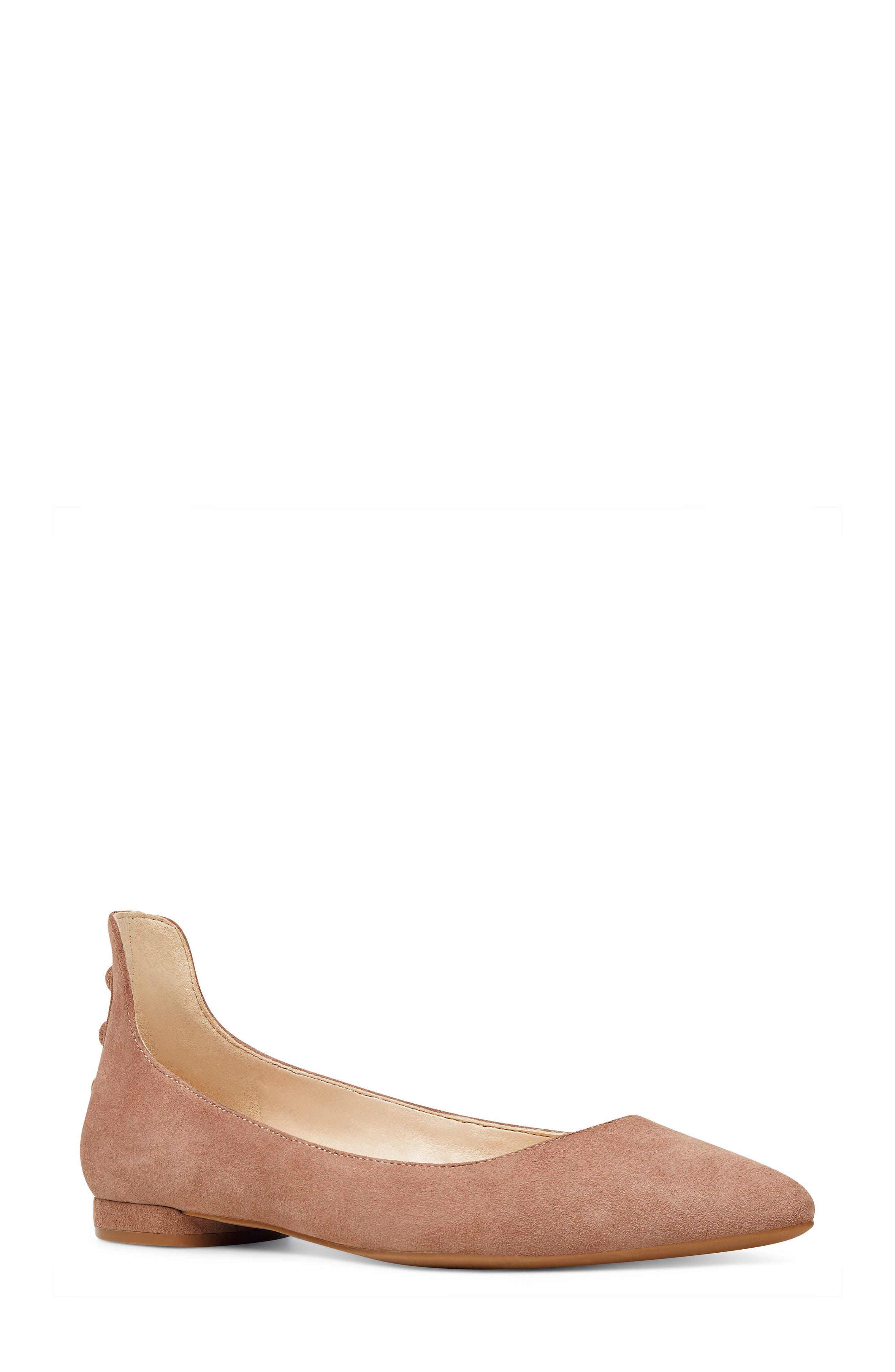 Main Image - Nine West Owl Skimmer Flat (Women)