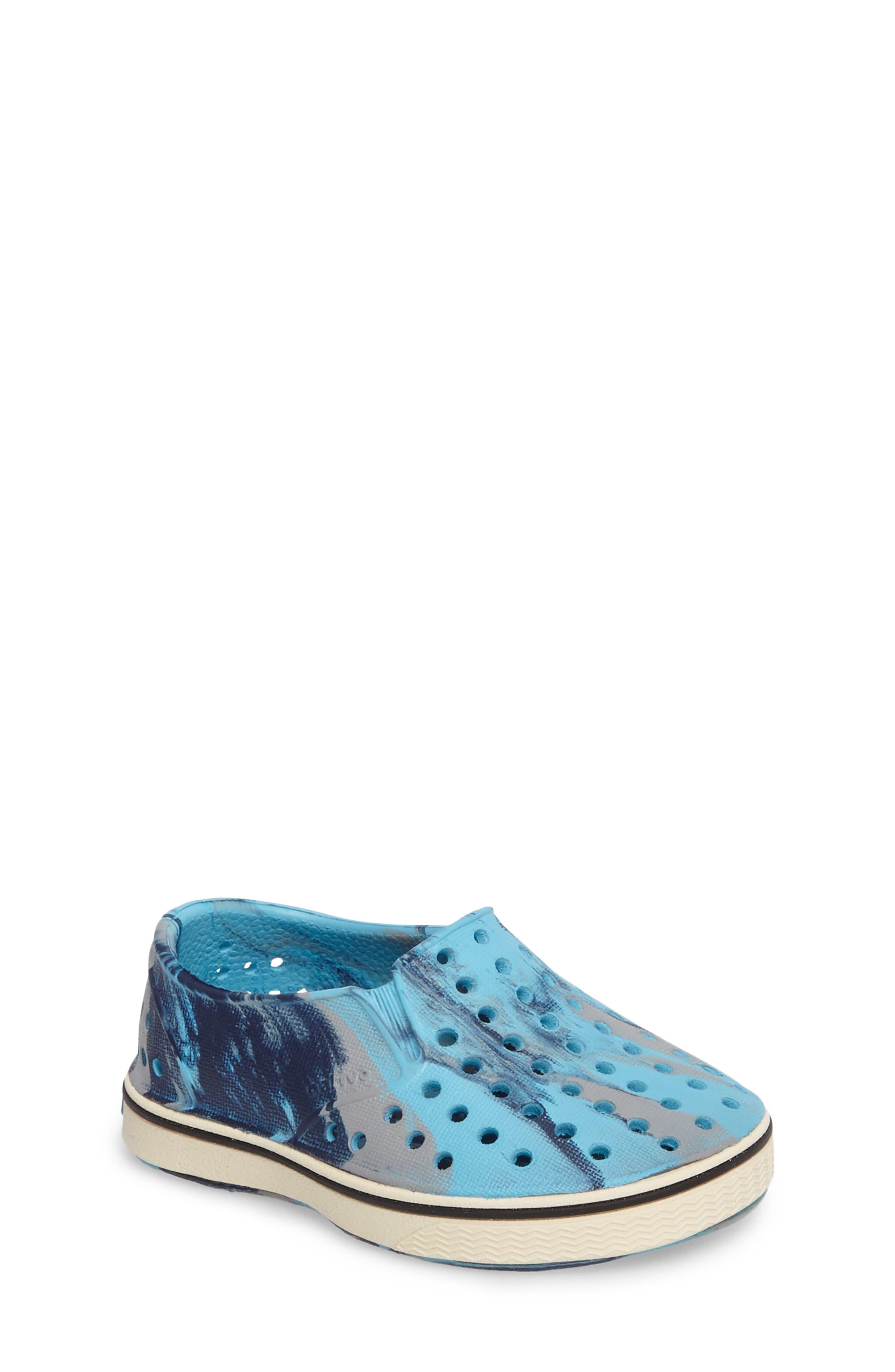 Alternate Image 1 Selected - Native Shoes Miles Marbled Slip-On Sneaker (Baby, Walker, Toddler, Little Kid & Big Kid)