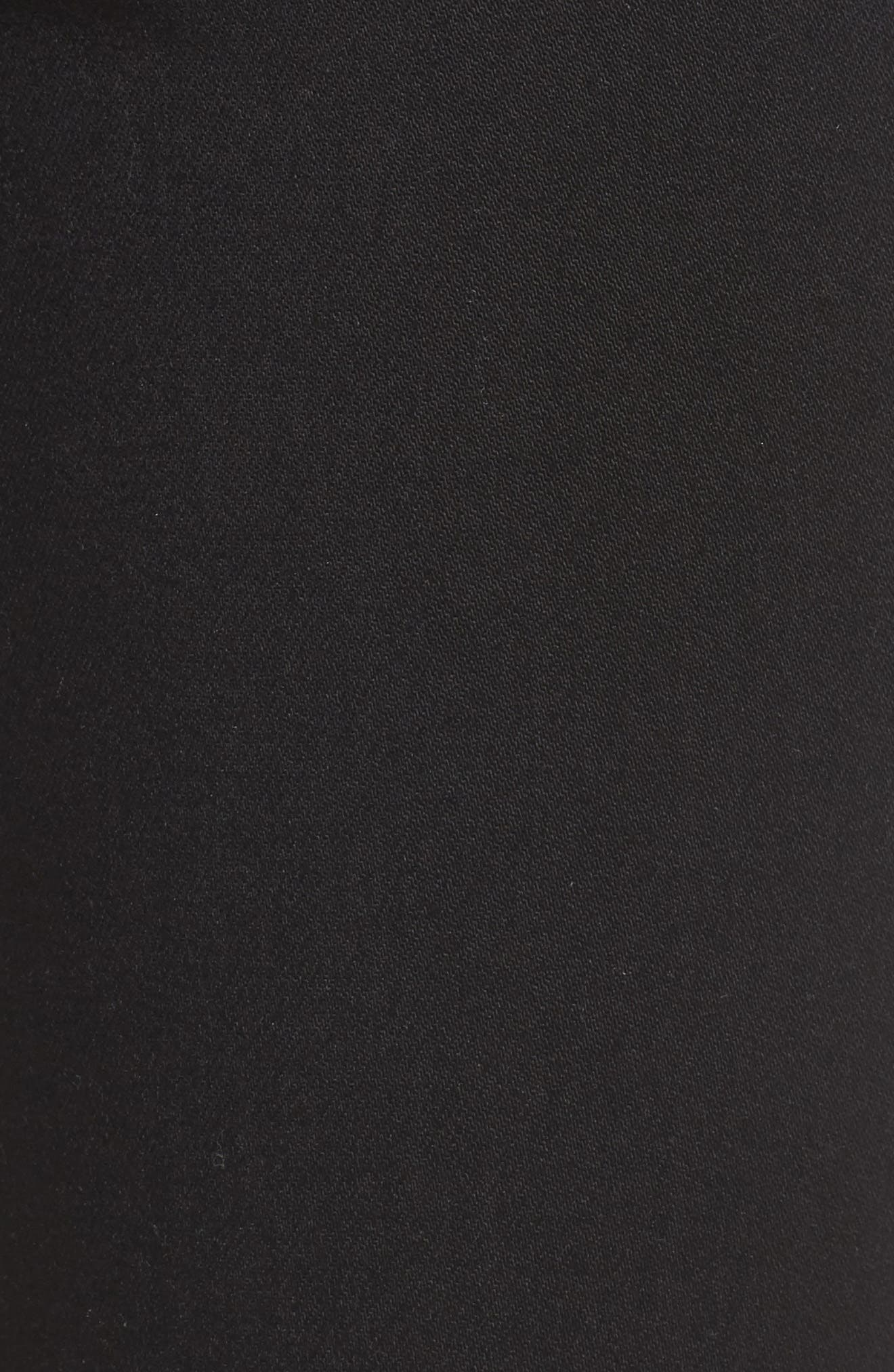 Jennie Curvy Skinny Jeans,                             Alternate thumbnail 4, color,                             Way Back Black