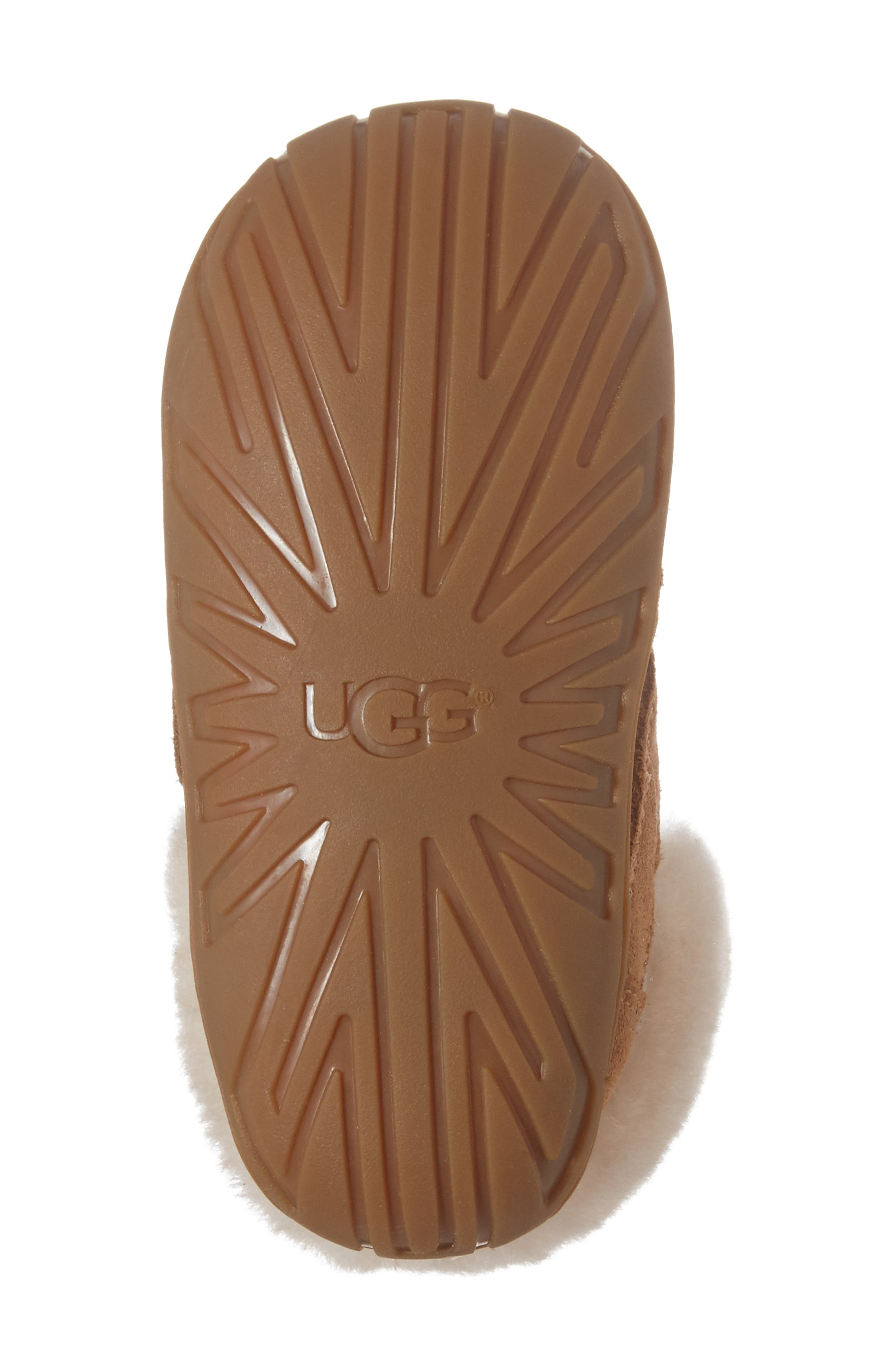 Alternate Image 6  - UGG® Jorgen Genuine Shearling Bootie (Baby, Walker & Toddler)