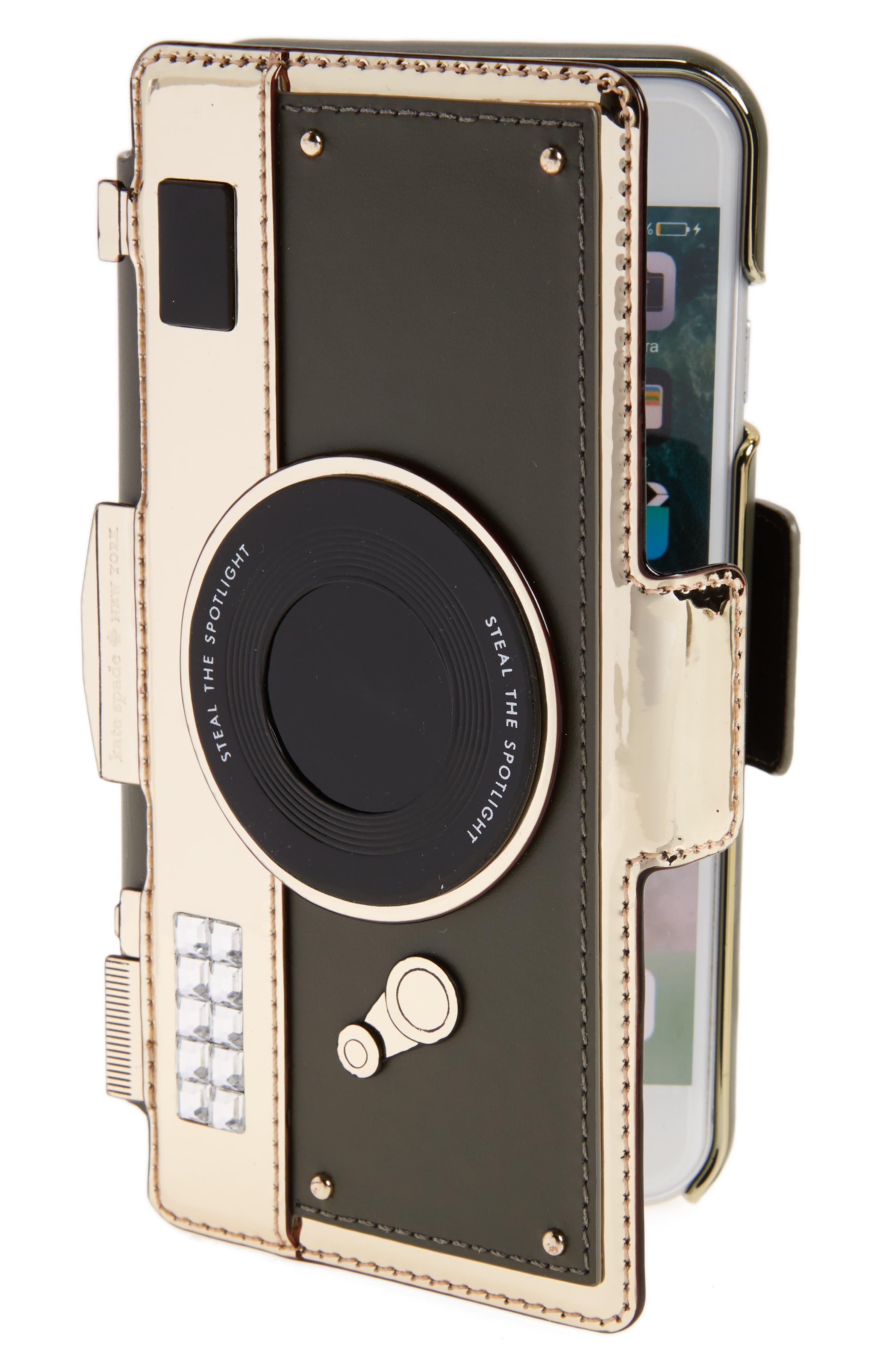 kate spade new york camera folio iPhone 7/8 case