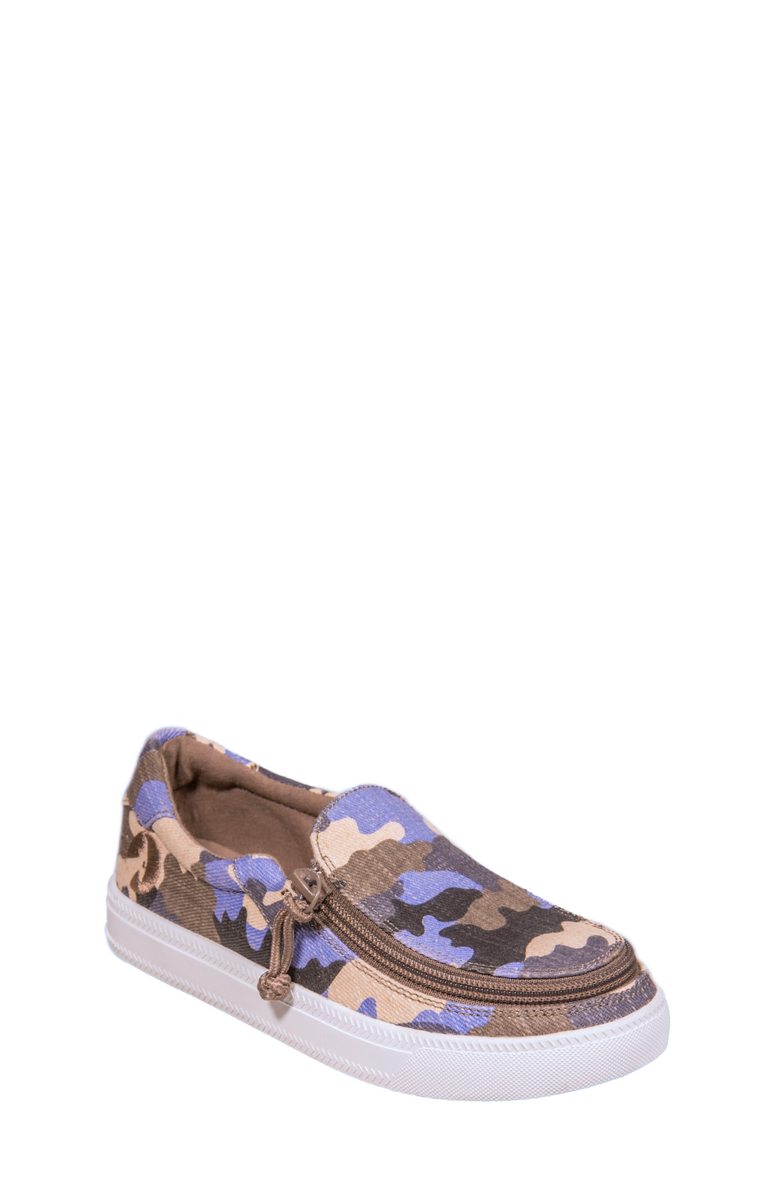 Main Image - BILLY Footwear Zip Around Low Top Sneaker (Toddler, Little Kid & Big Kid)