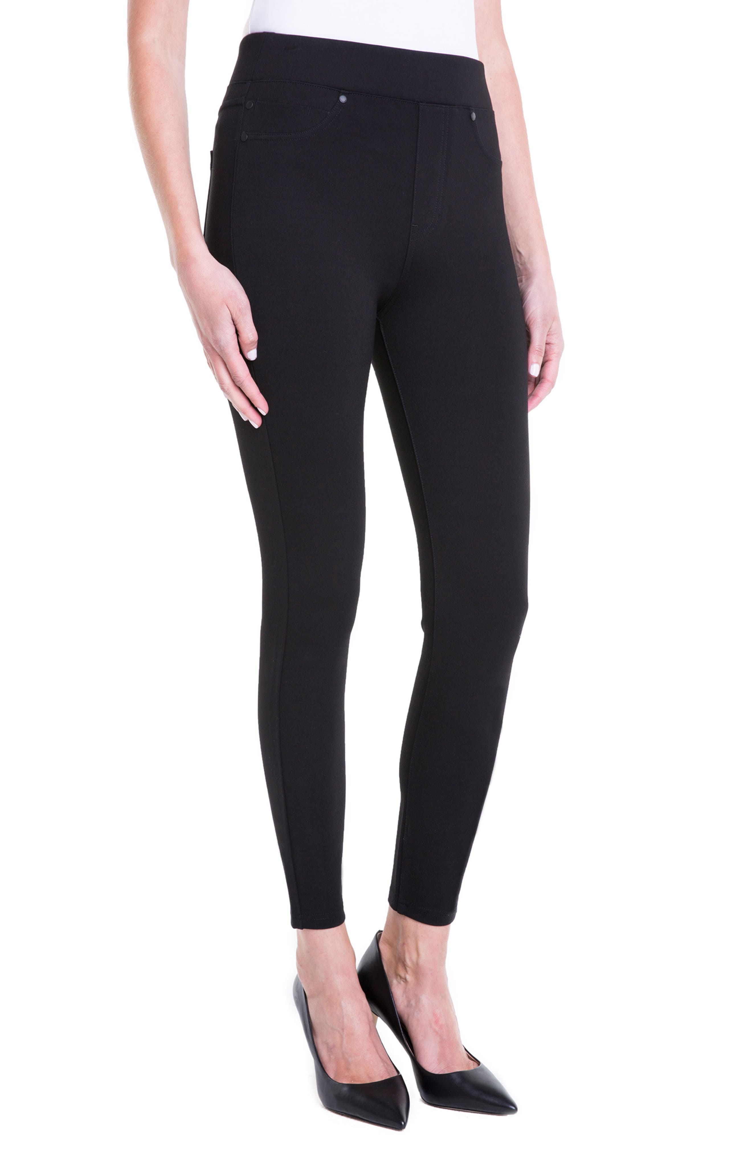Alternate Image 5  - Liverpool Jeans Company Bridget High Waist Pull-On Ankle Leggings