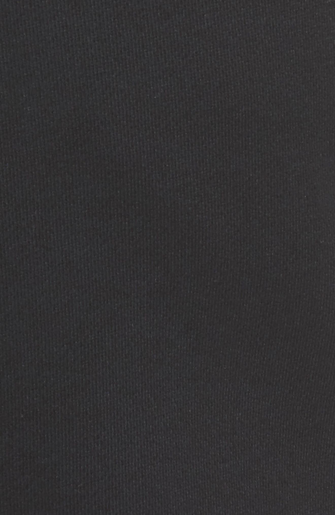 Regular Fit Sweatpants,                             Alternate thumbnail 5, color,                             Black