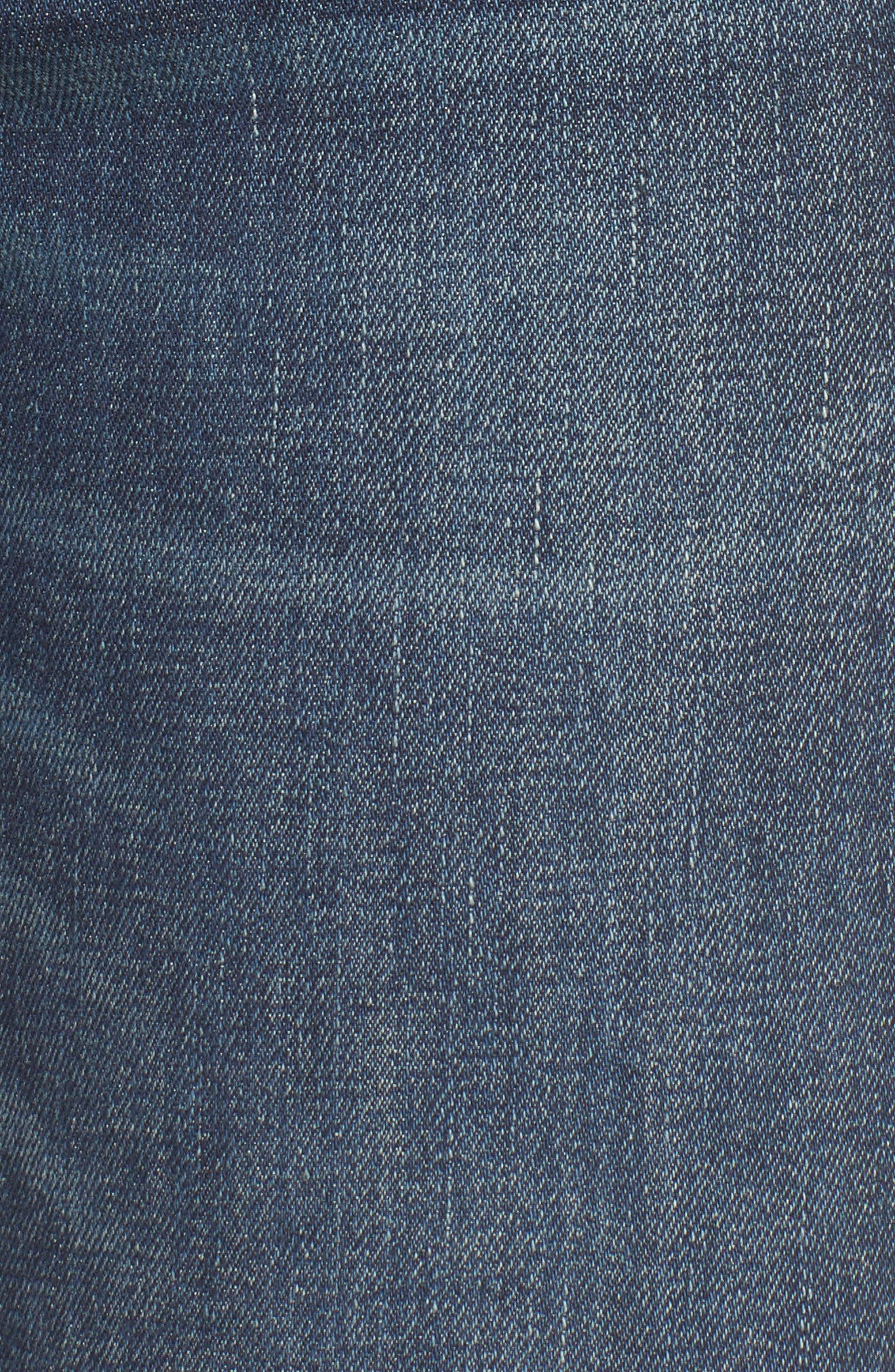 Alternate Image 5  - AGOLDE Sophie High Waist Skinny Jeans