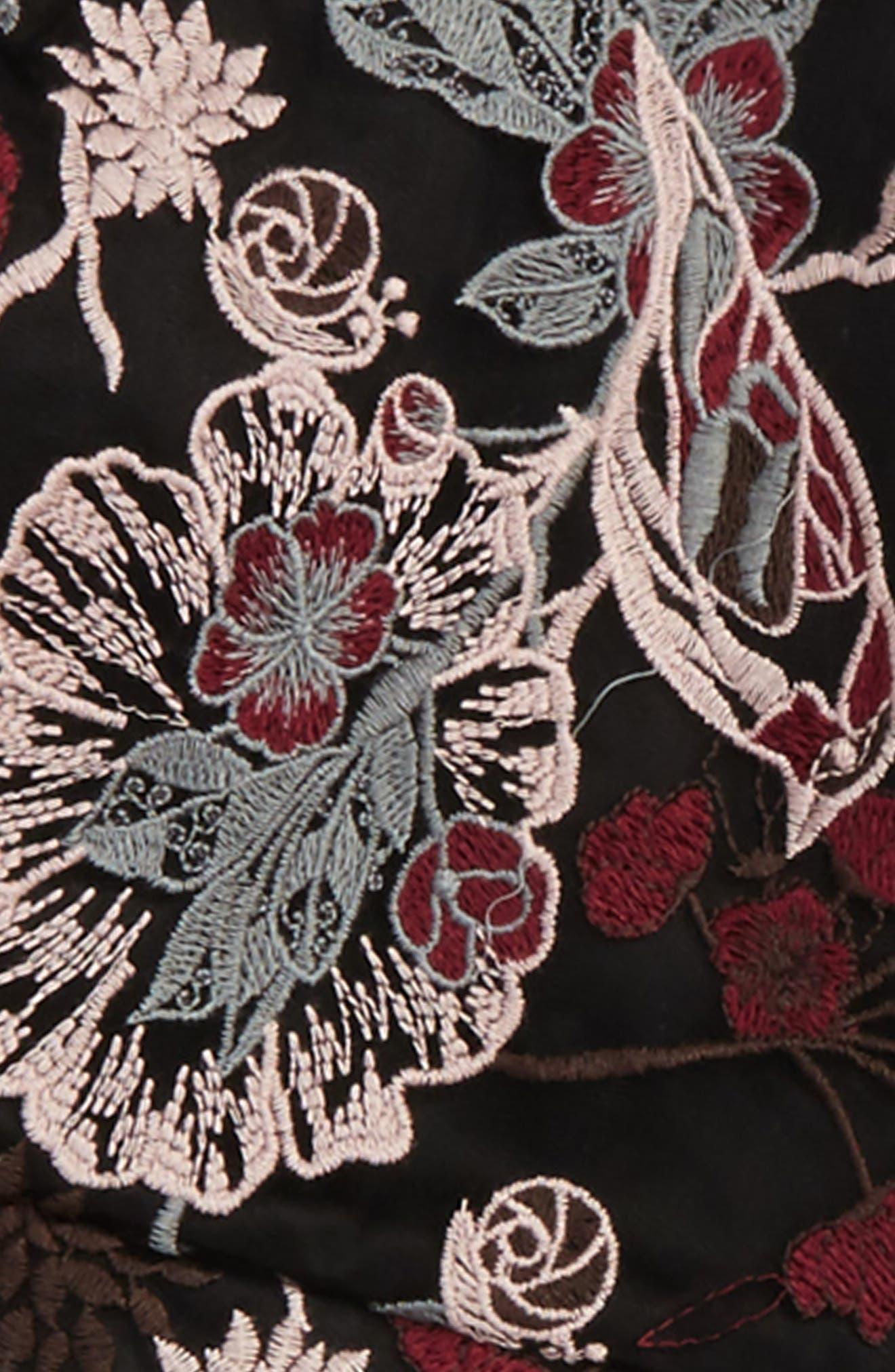 Alternate Image 2  - Bardot Junior Embroidered Romper (Big Girls)