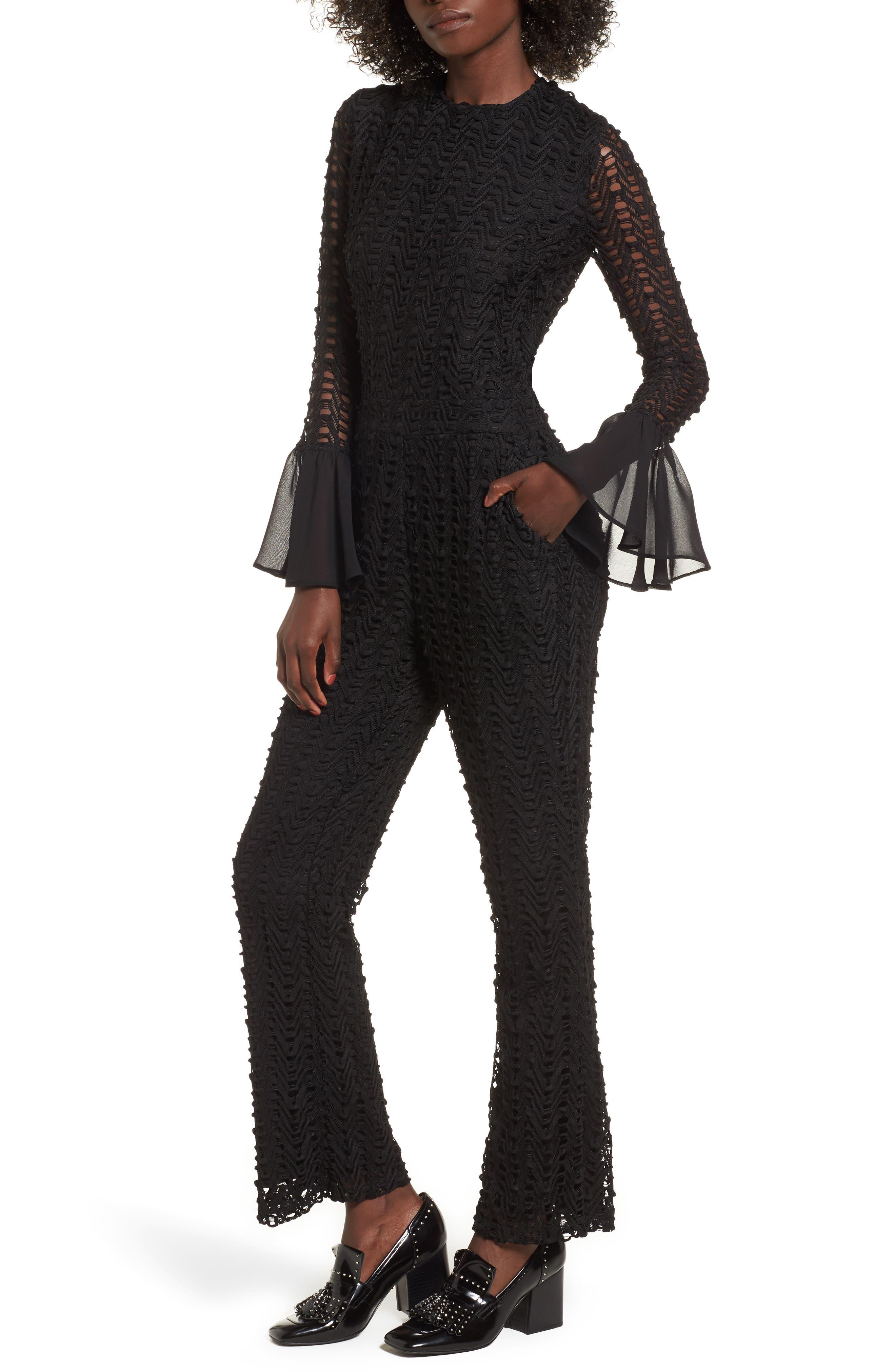 Wimma Jumpsuit,                             Main thumbnail 1, color,                             Black