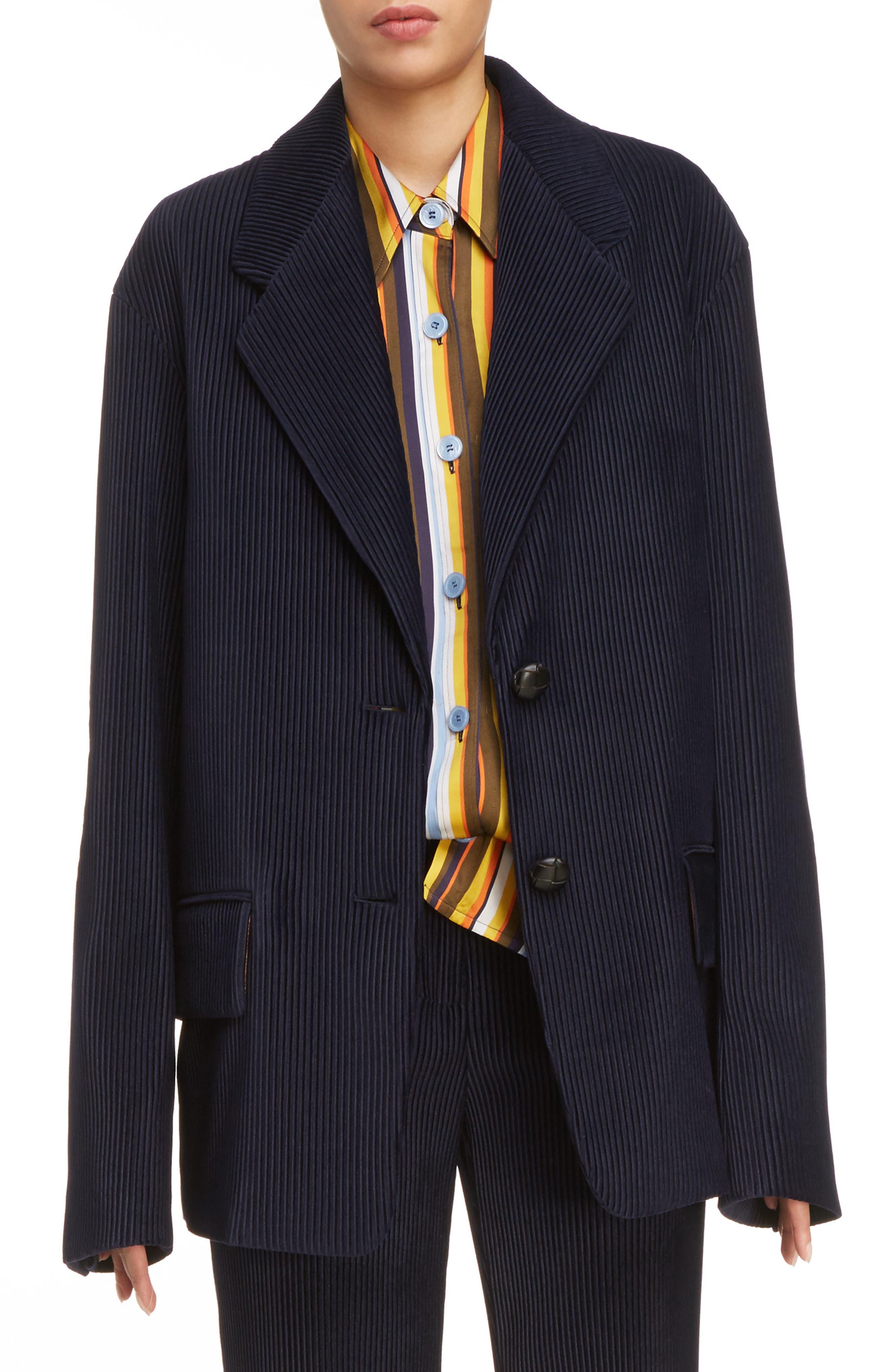 Juul Corduroy Jacket,                         Main,                         color, Navy