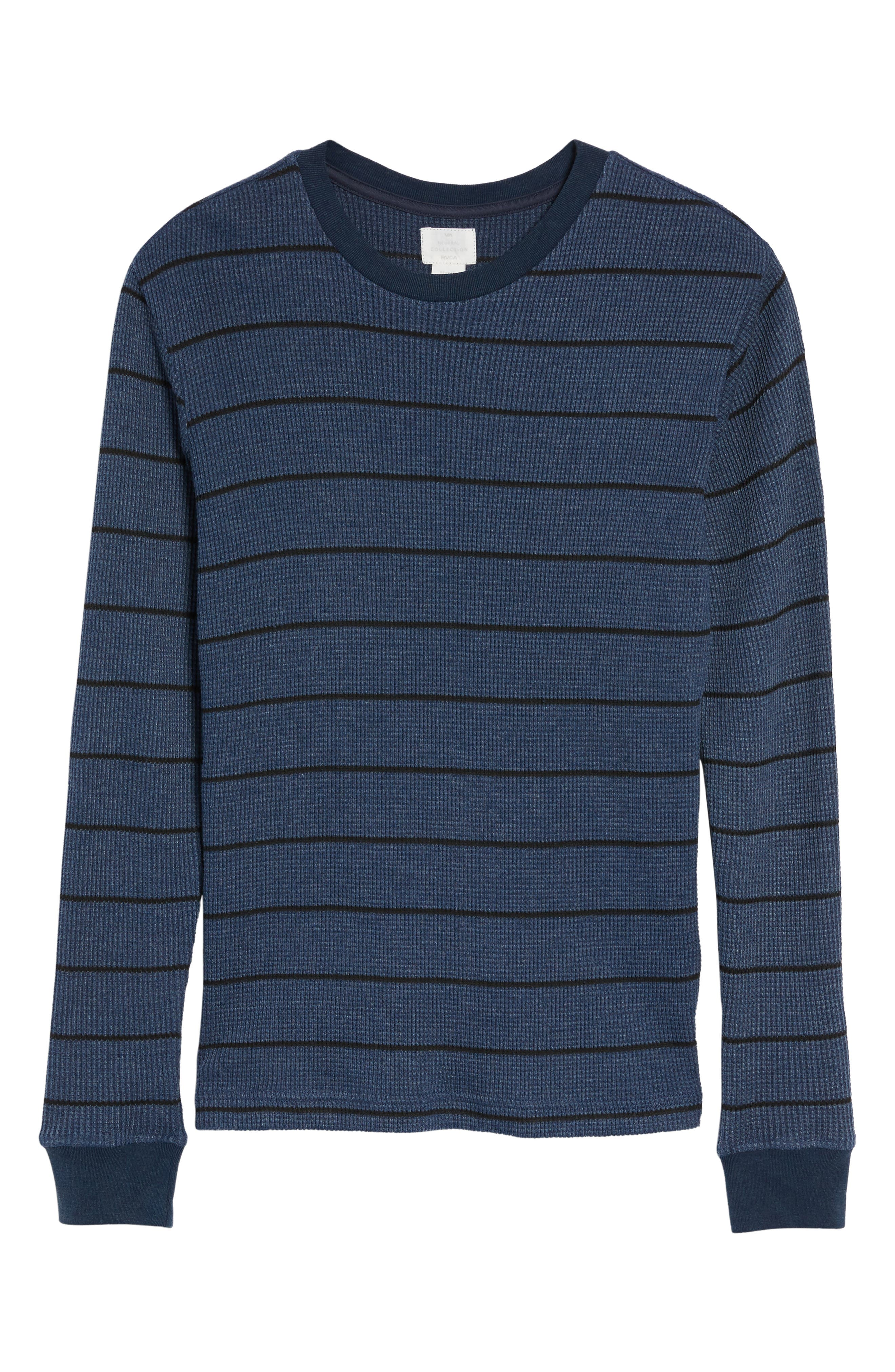 Alternate Image 6  - RVCA Neutral Stripe Thermal T-Shirt