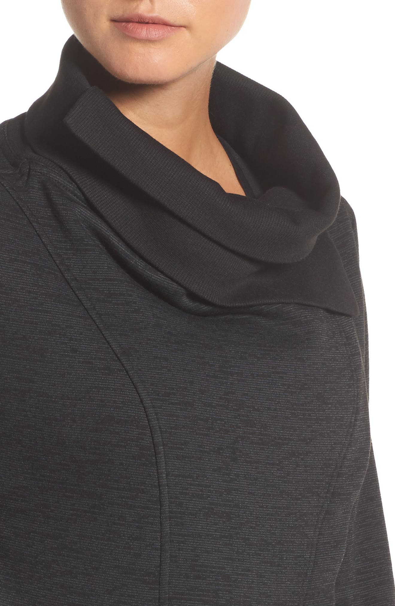 Alternate Image 4  - Zella Elevate Me Wrap Sweatshirt