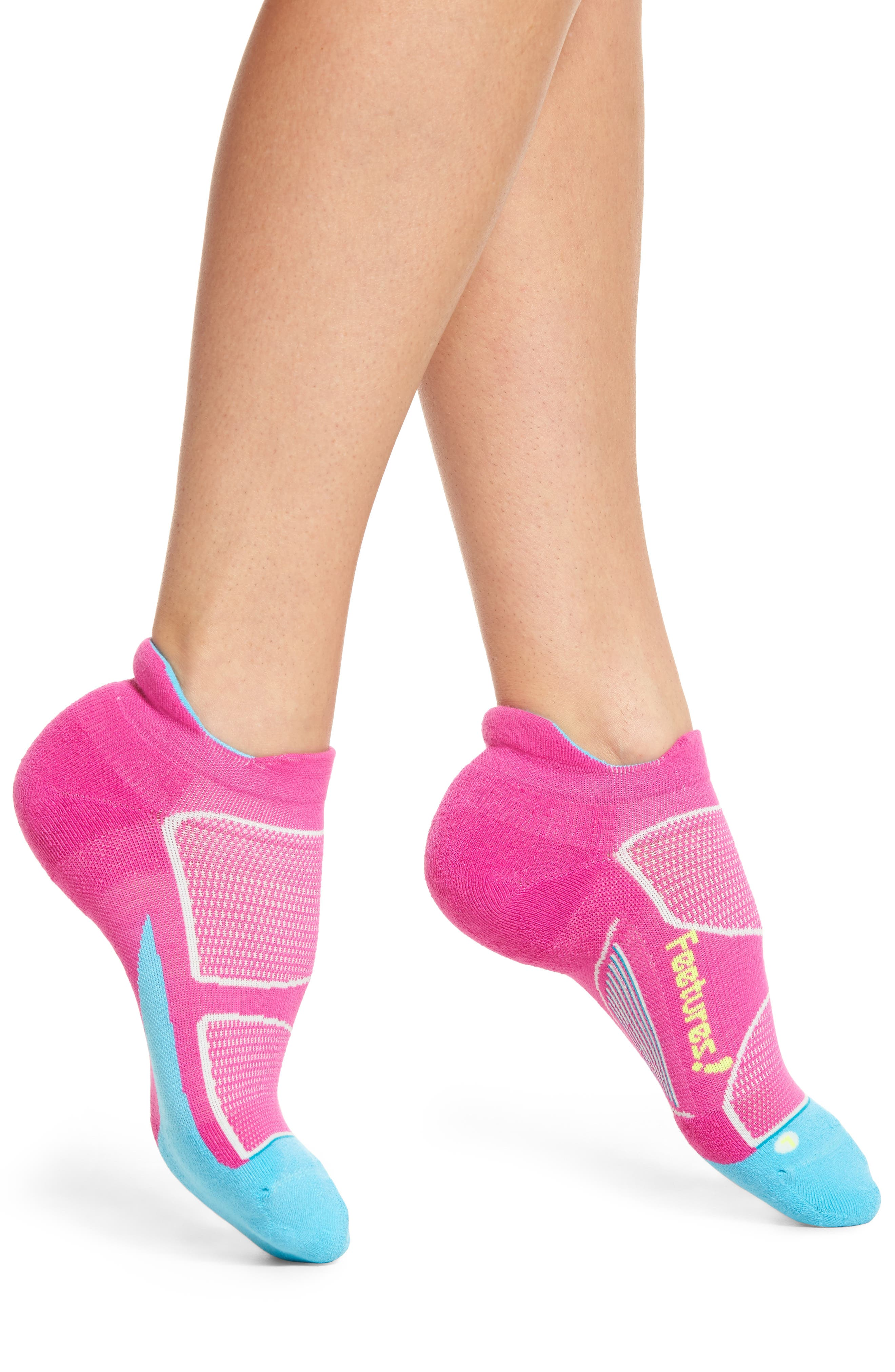 Feetures Elite Max No-Show Running Socks