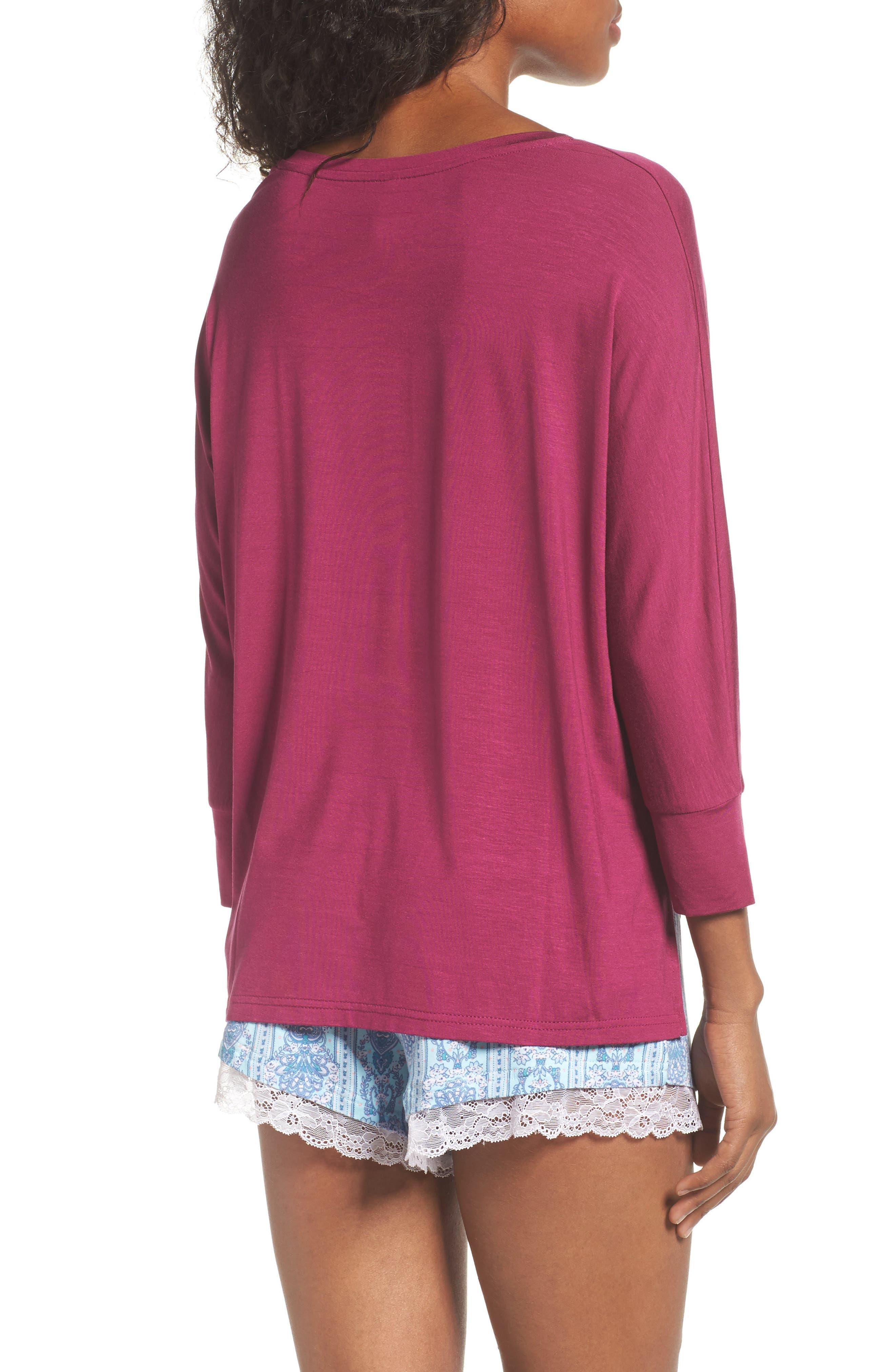 Honeydew Short Pajamas,                             Alternate thumbnail 2, color,                             Tuscany