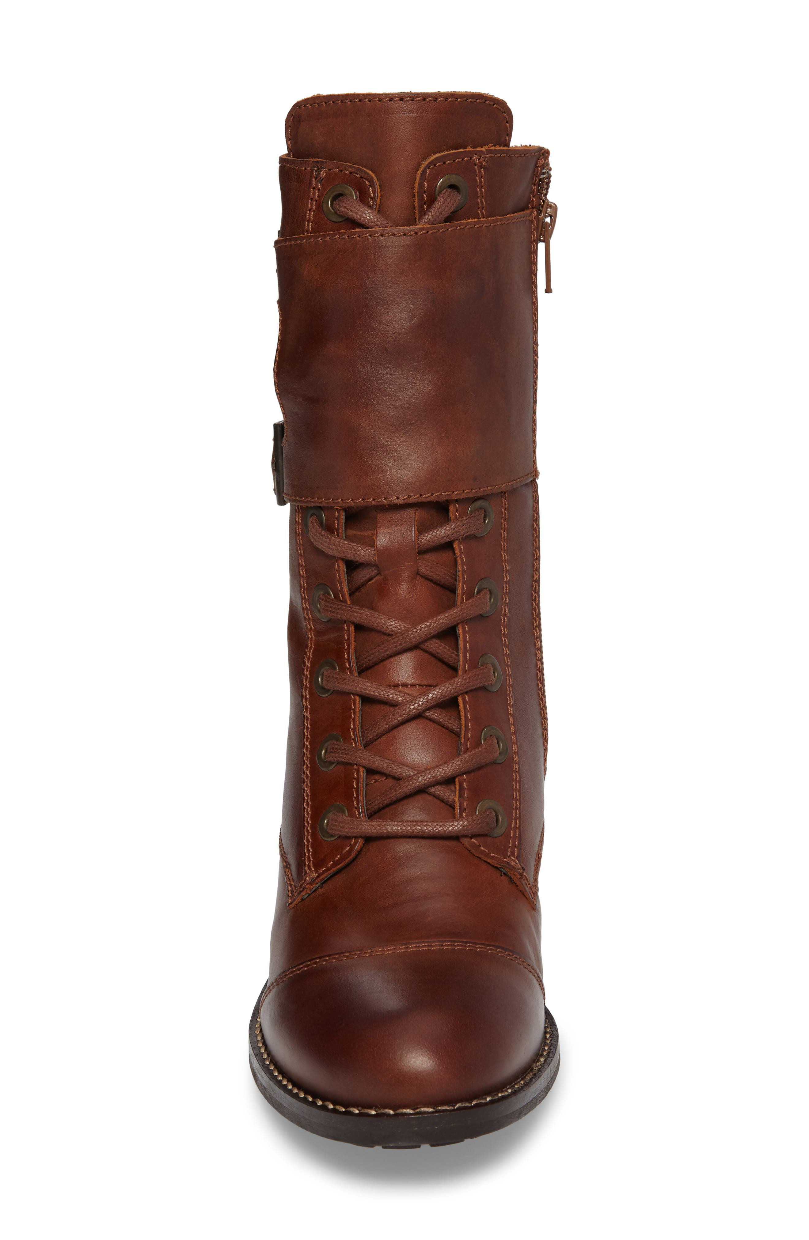 Alternate Image 4  - Bos. & Co. Lune Waterproof Moto Boot (Women)
