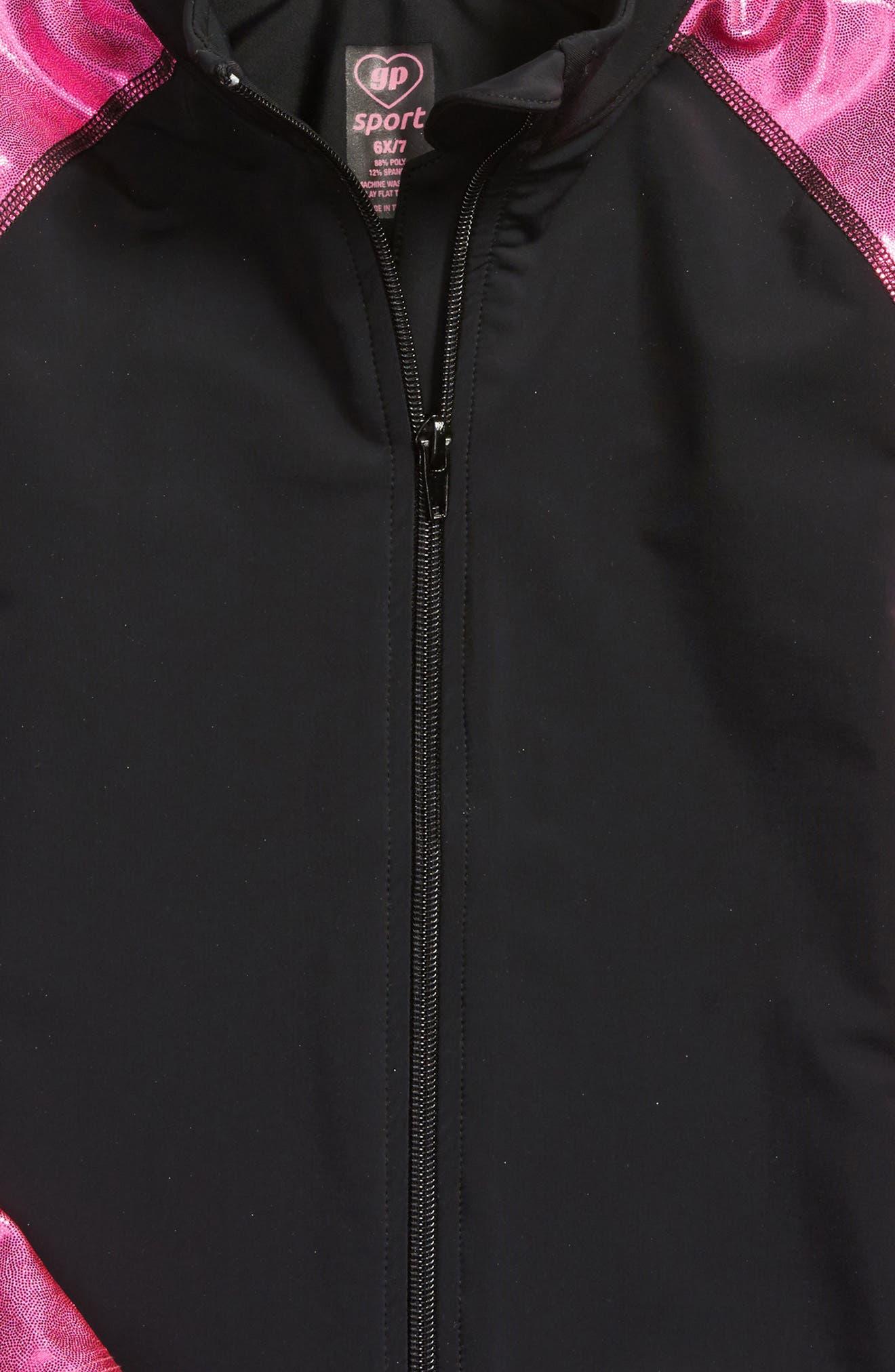Metallic Favorite Jacket,                             Alternate thumbnail 2, color,                             Pink