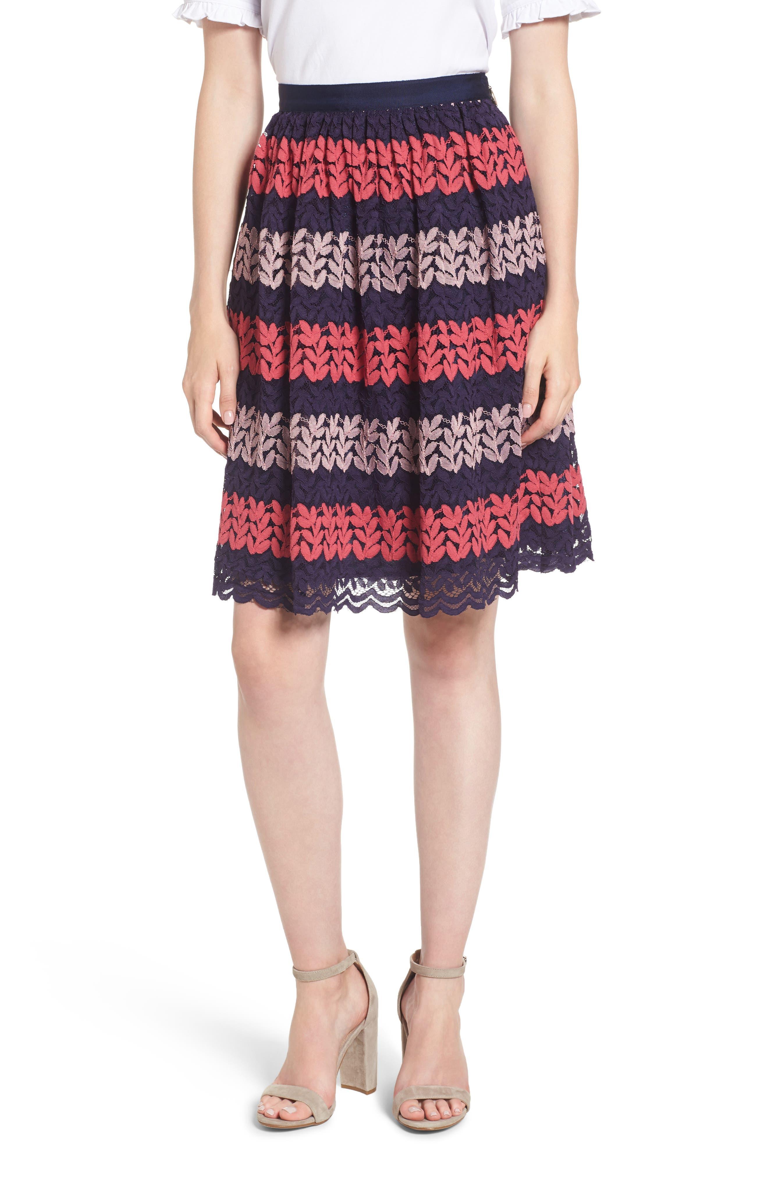 Draper James Ivy Lace Skirt